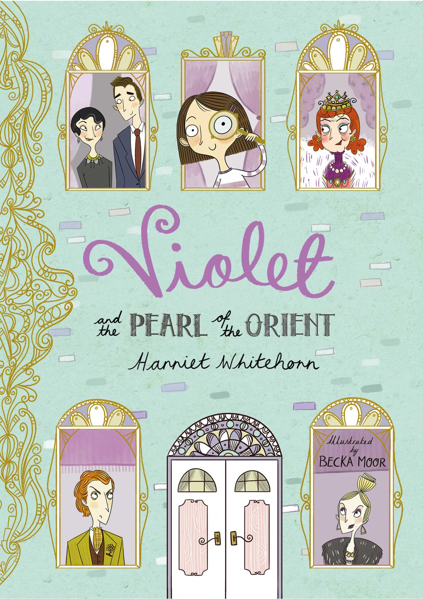 Violet and the pearl of the orient 9781471118968 hr
