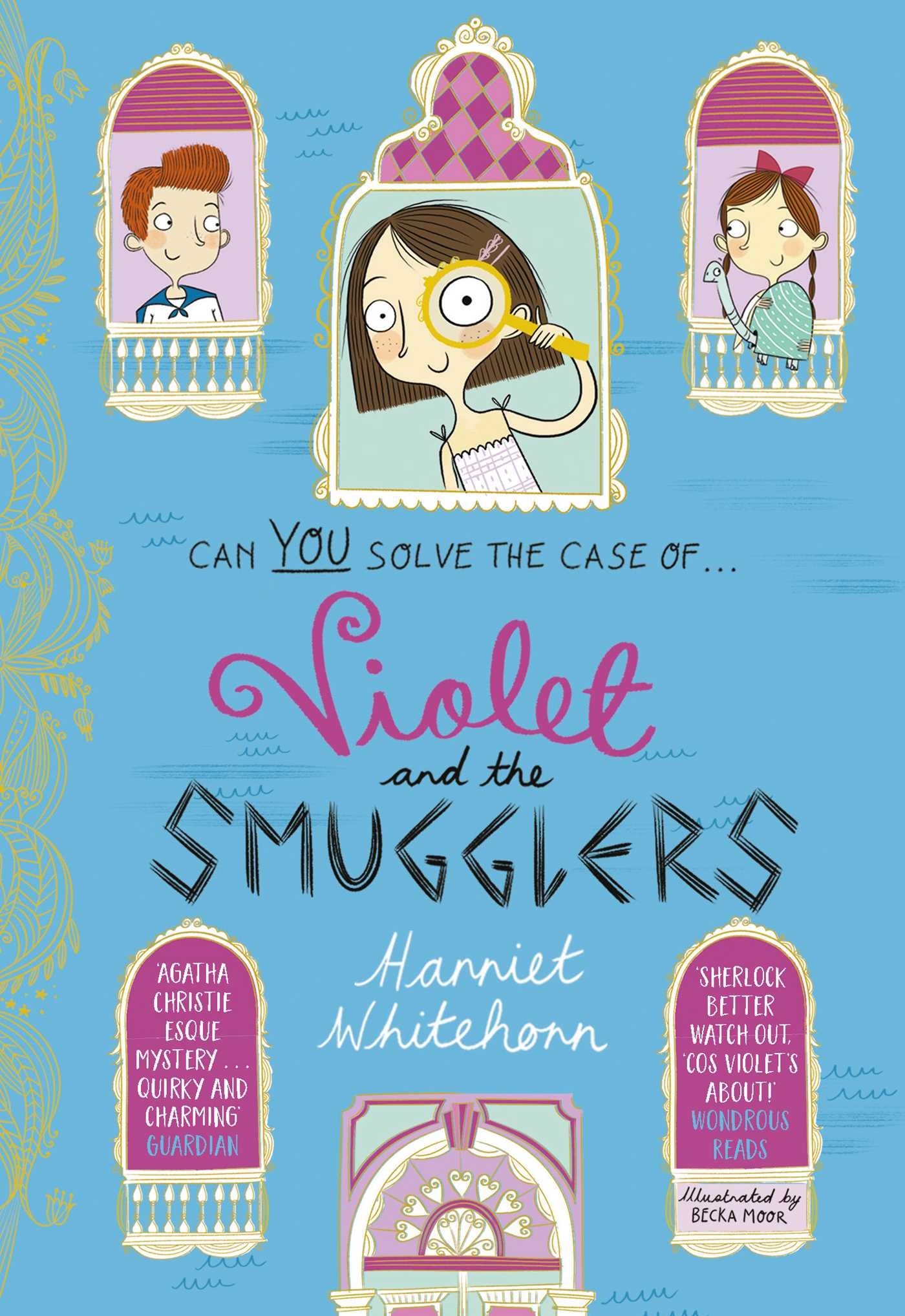 Violet and the smugglers 9781471118999 hr