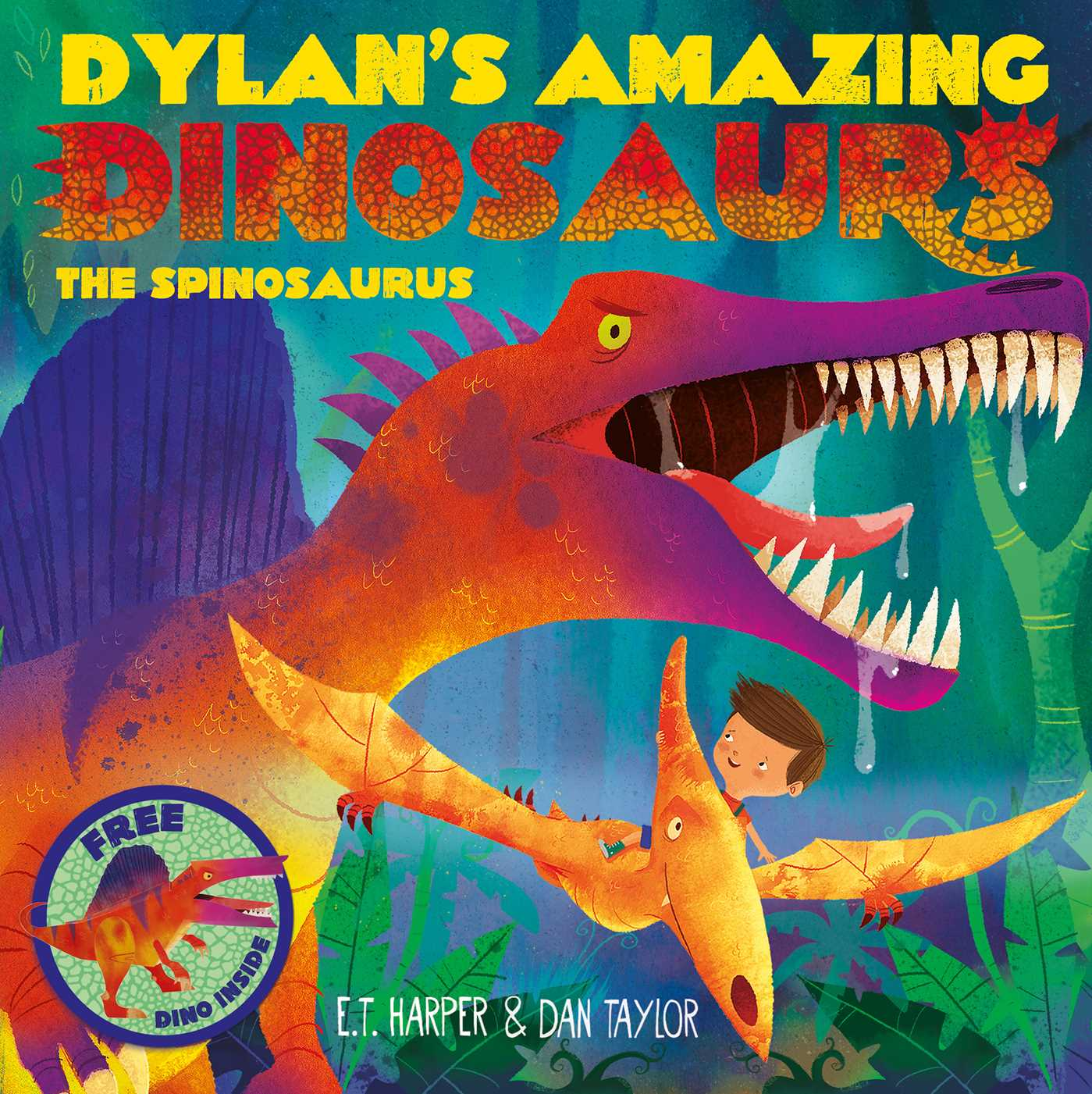 Dylans amazing dinosaurs the spinosaurus 9781471119392 hr