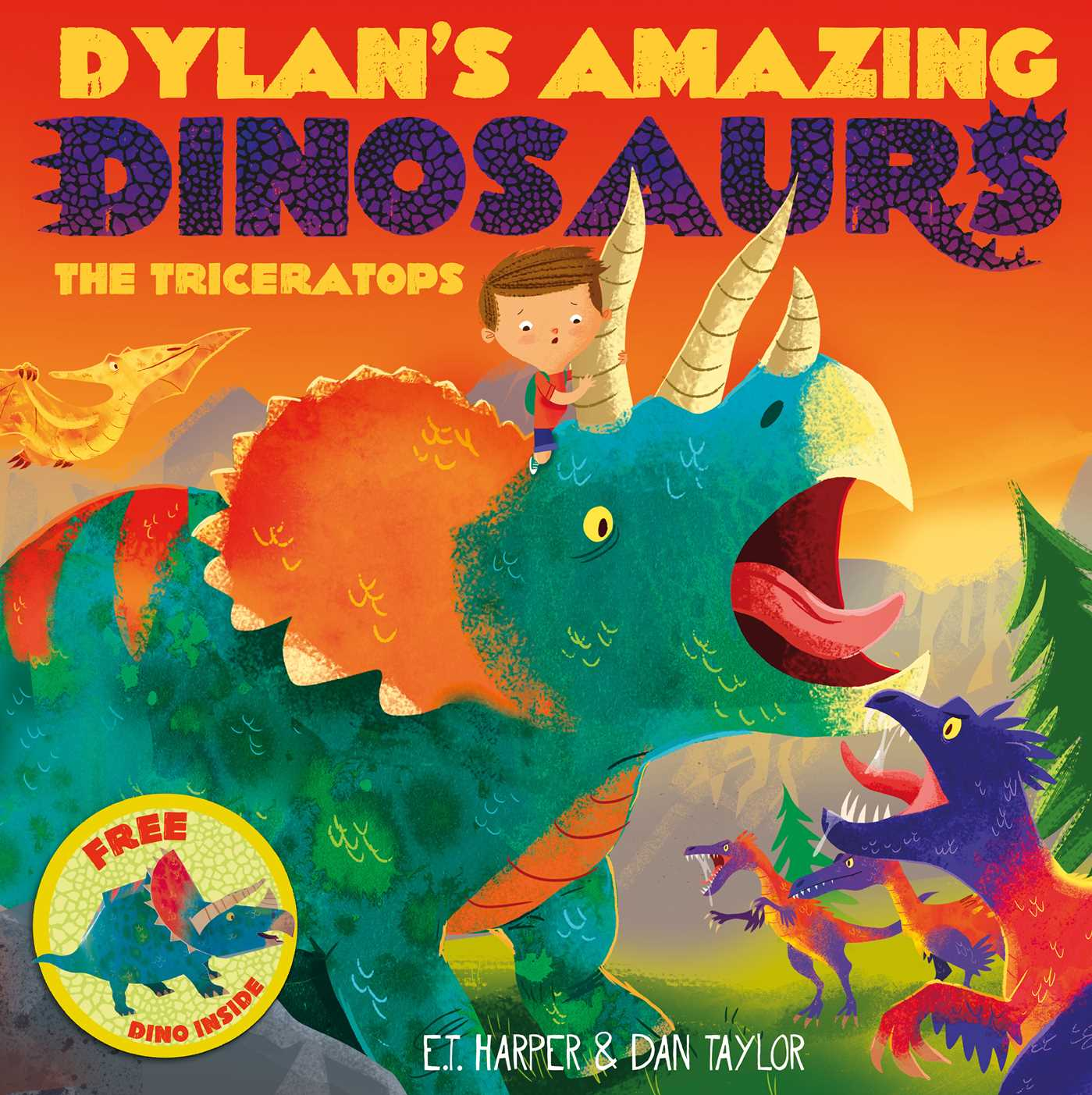 Dylans amazing dinosaurs the triceratops 9781471119415 hr