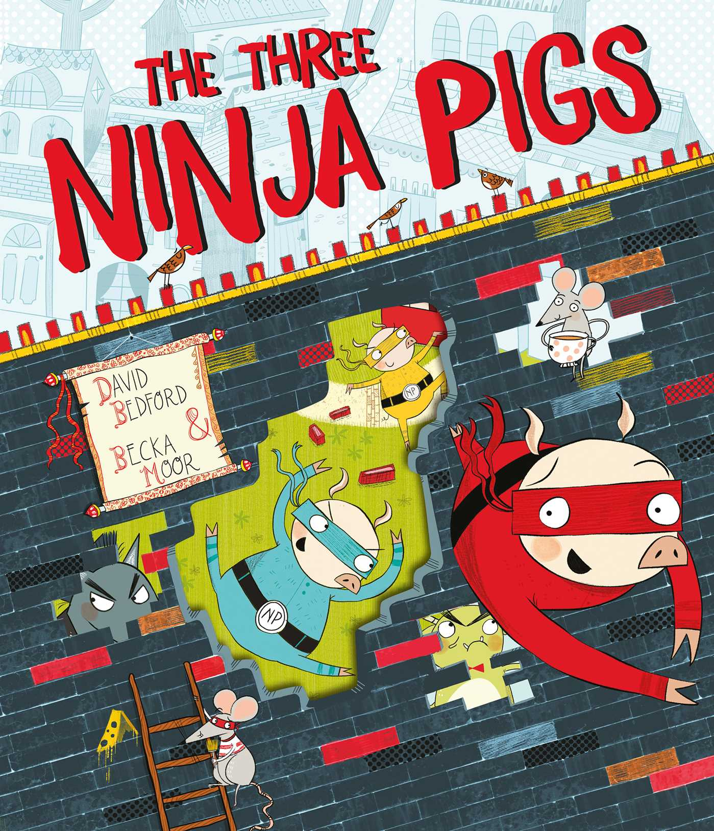 The three ninja pigs 9781471121913 hr