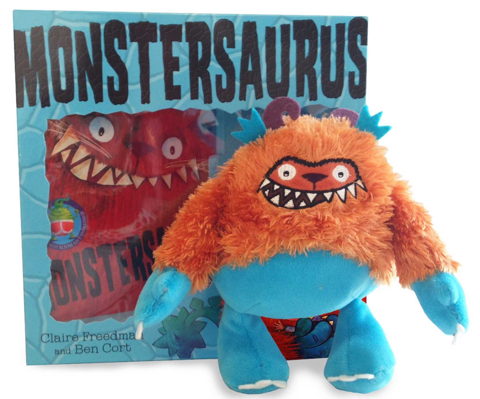 Monstersaurus book and toy 9781471123535 hr