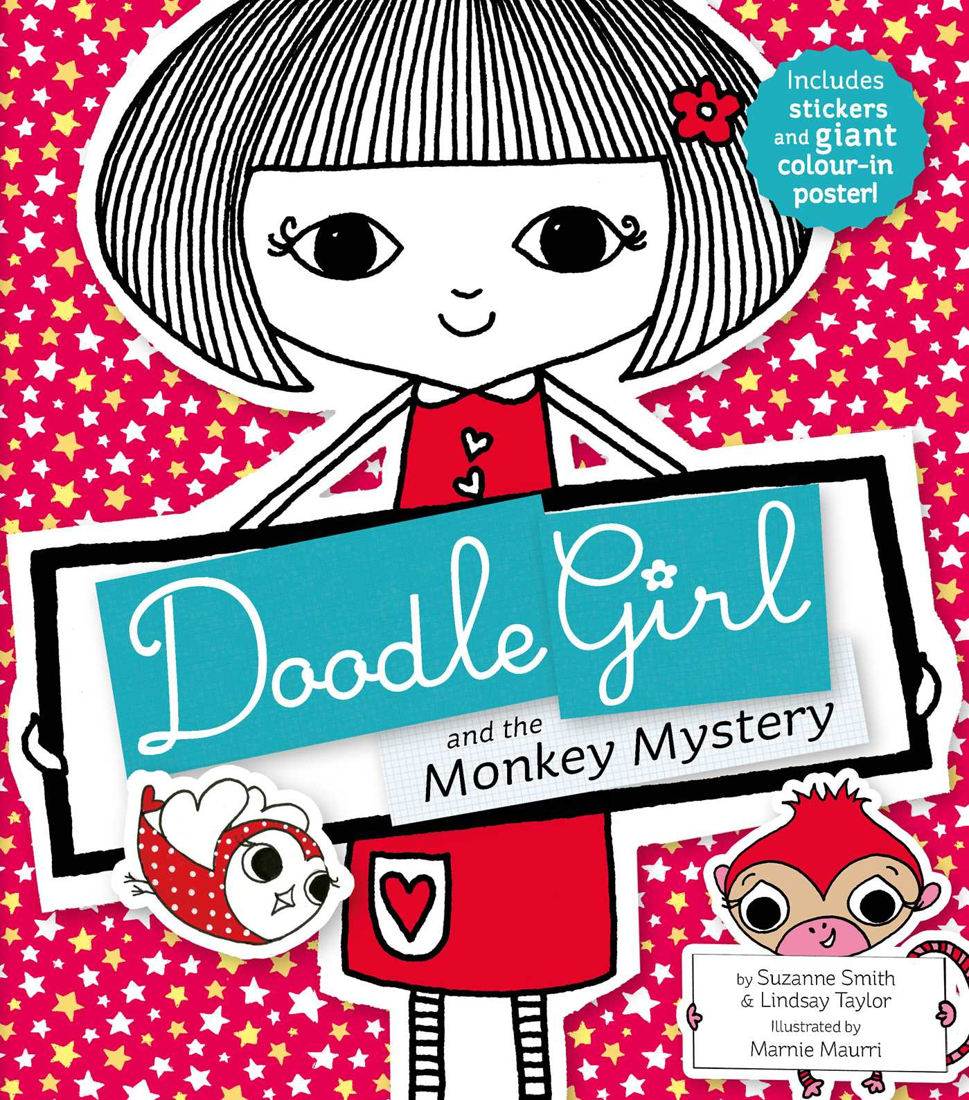 Doodle Girl and the Monkey Mystery eBook by Suzanne Smith, Lindsay ...