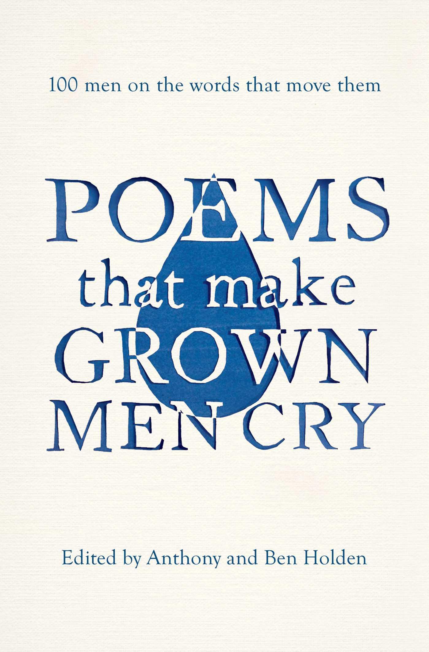 Poems that make grown men cry 9781471134913 hr