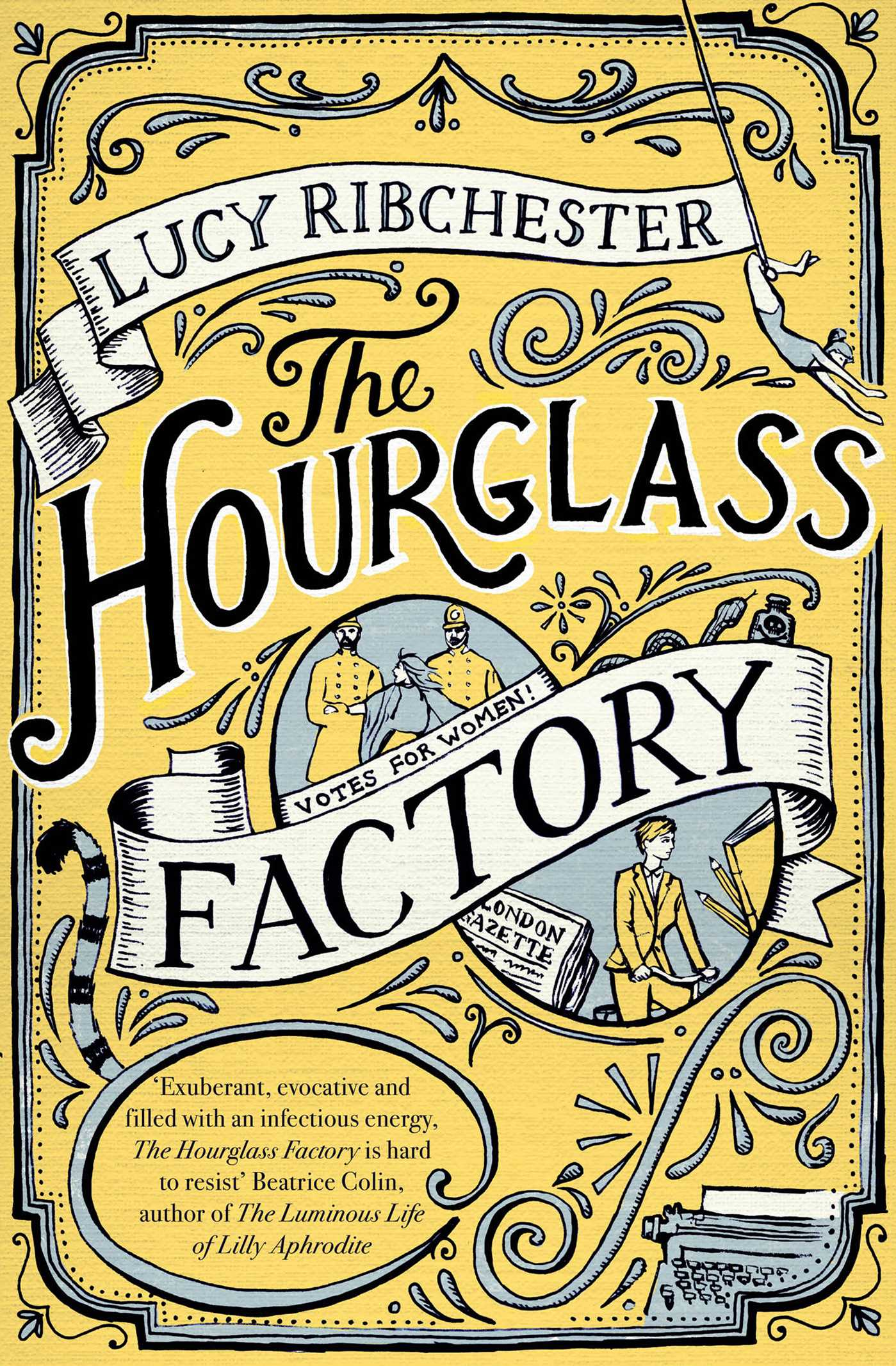 The hourglass factory 9781471139307 hr
