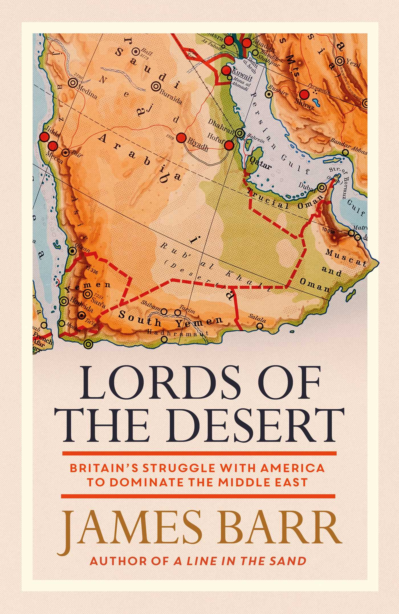 Lords of the desert 9781471139796 hr