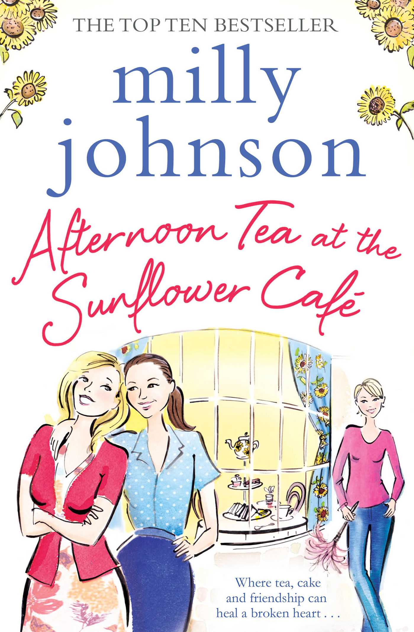 Afternoon tea at the sunflower cafe 9781471140464 hr