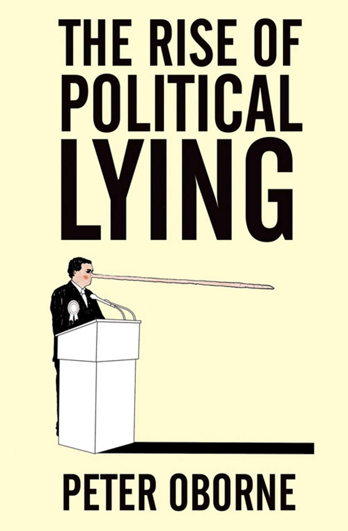 Rise of political lying 9781471142031 hr