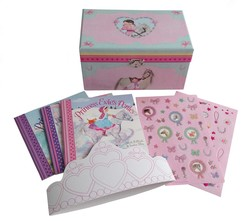 Princess Evie's Ponies Keepsake Box