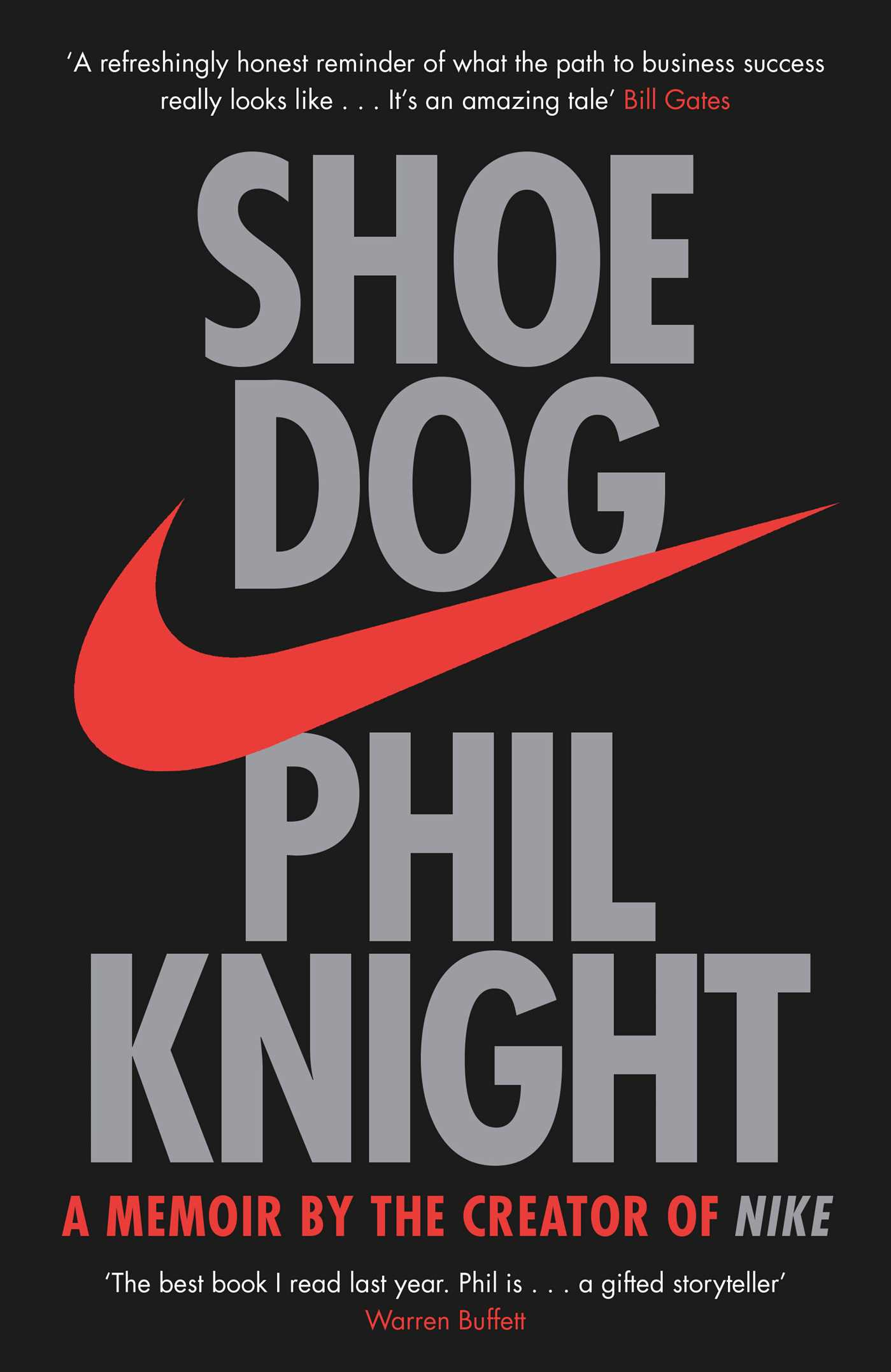 Shoe Dog Nike Book