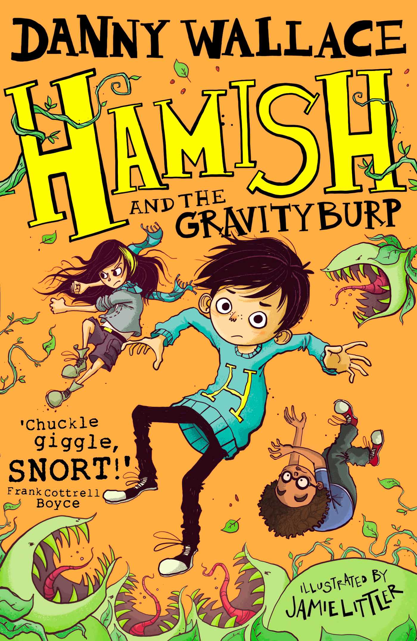 Hamish and the gravityburp 9781471147128 hr