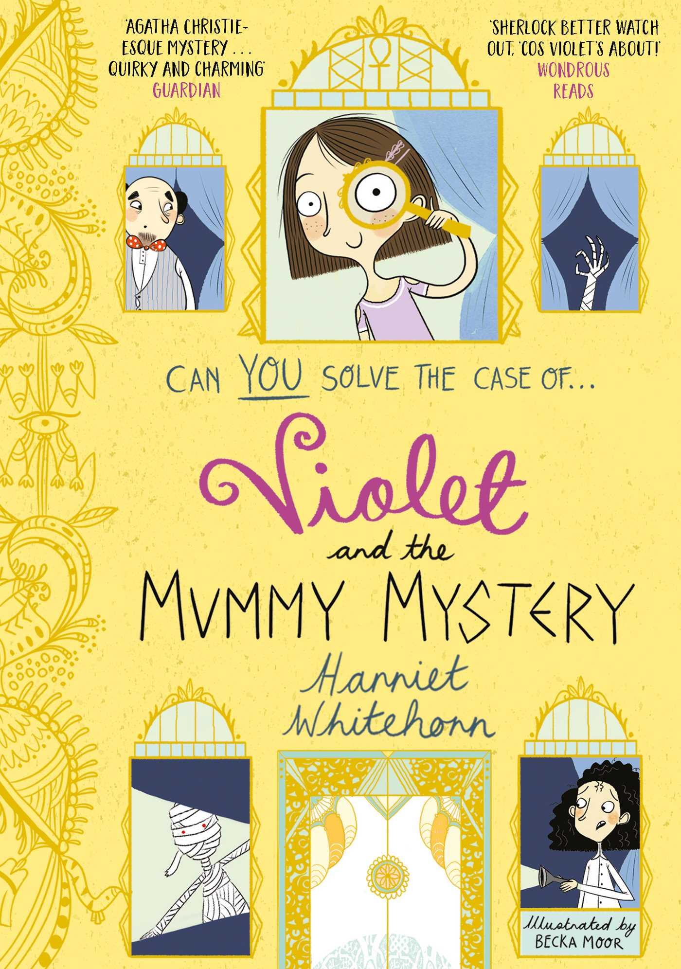 Violet and the mummy mystery 9781471147197 hr