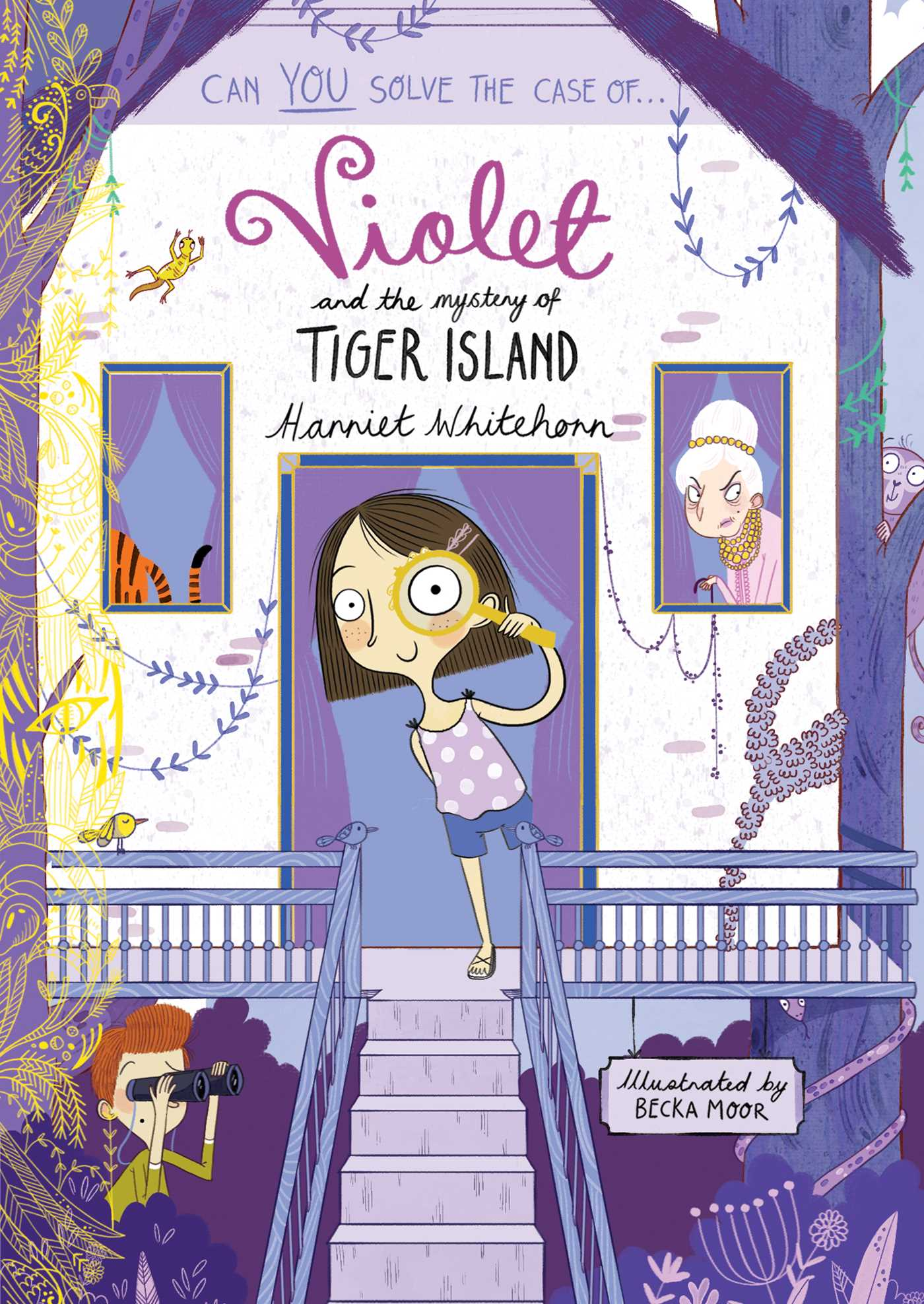 Violet and the mystery of tiger island 9781471147227 hr