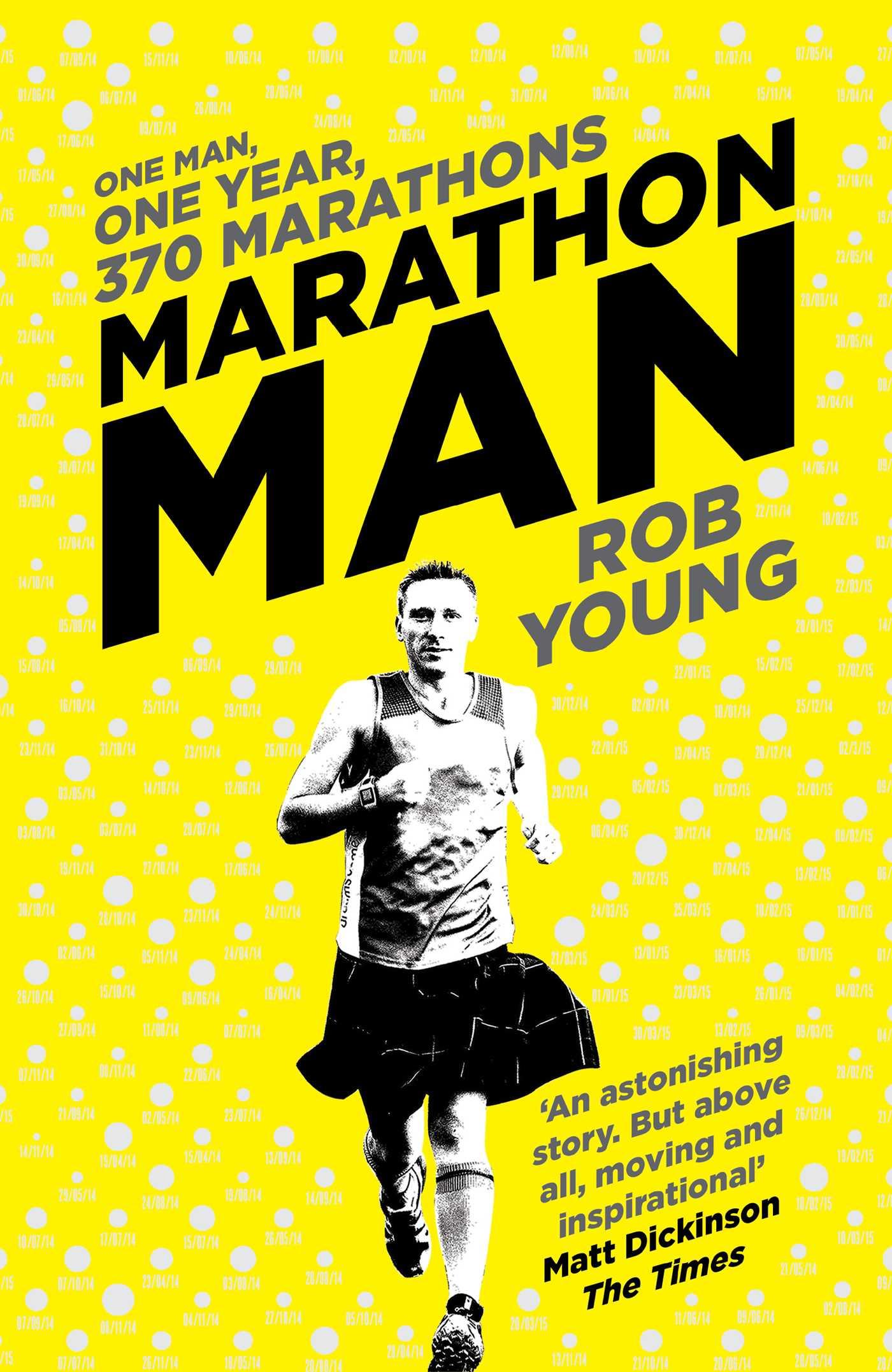 Young Man Running A Marathon Stock Vector - Illustration ... |Marathon Man Running
