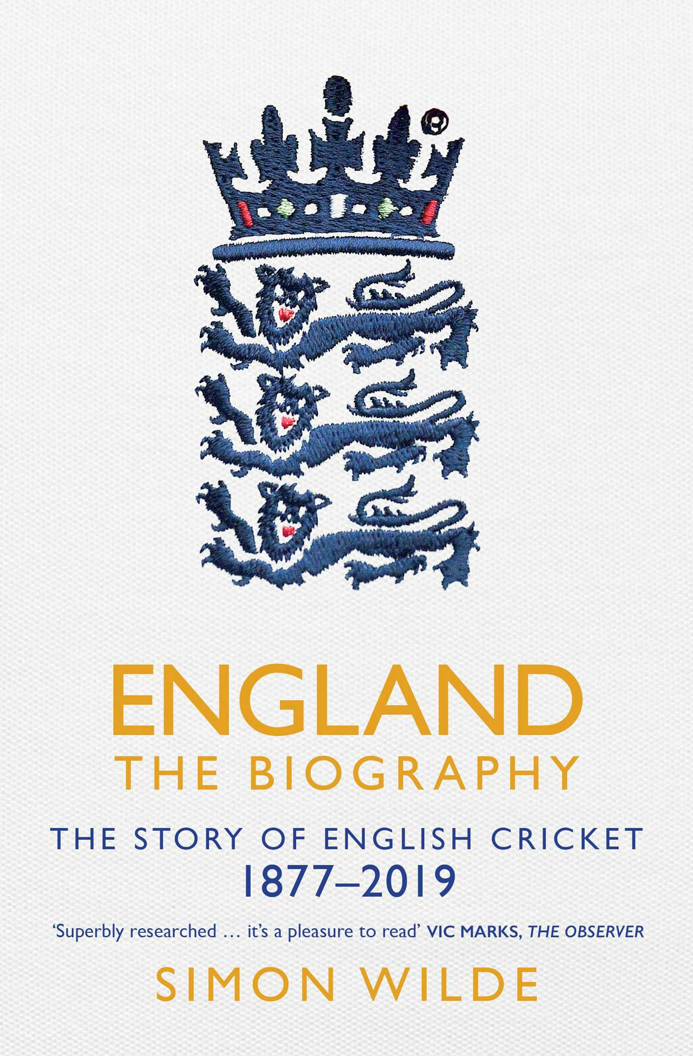 England the biography 9781471154867 hr