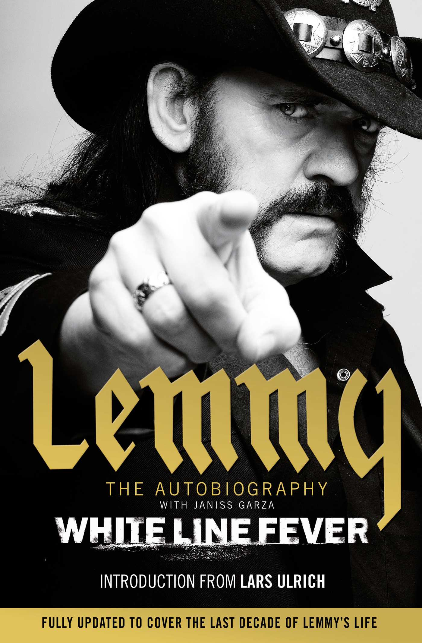 dc320f965 White Line Fever | Book by Lemmy Kilmister | Official Publisher Page ...