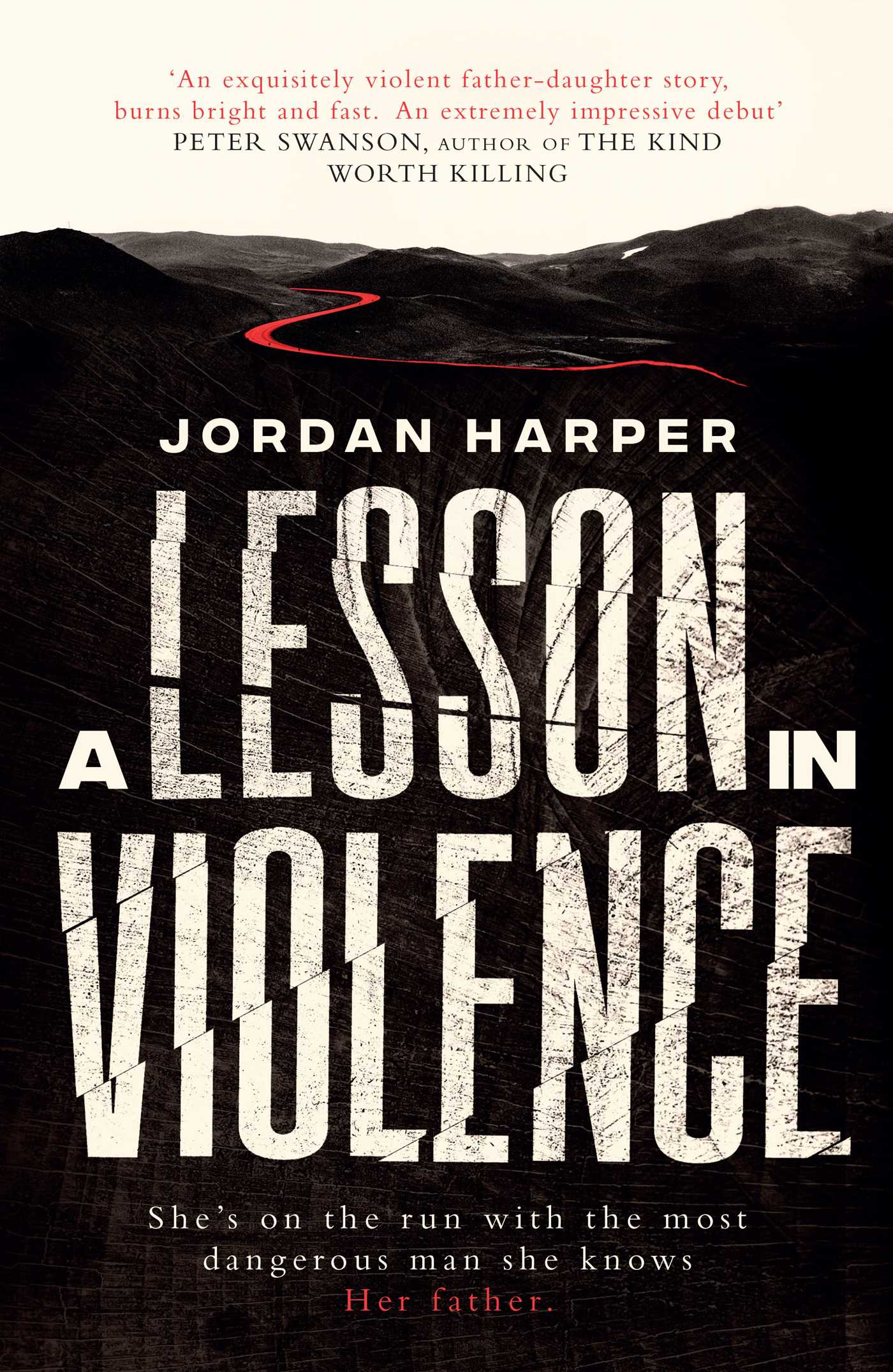 A lesson in violence 9781471158940 hr