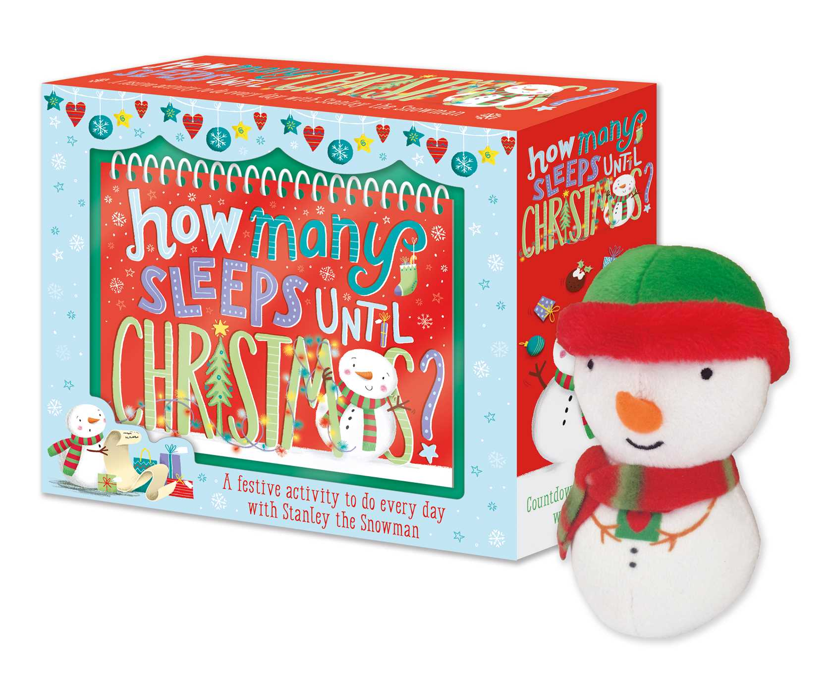 How Many Day Till Christmas.How Many Sleeps Until Christmas Book By Karen Wall