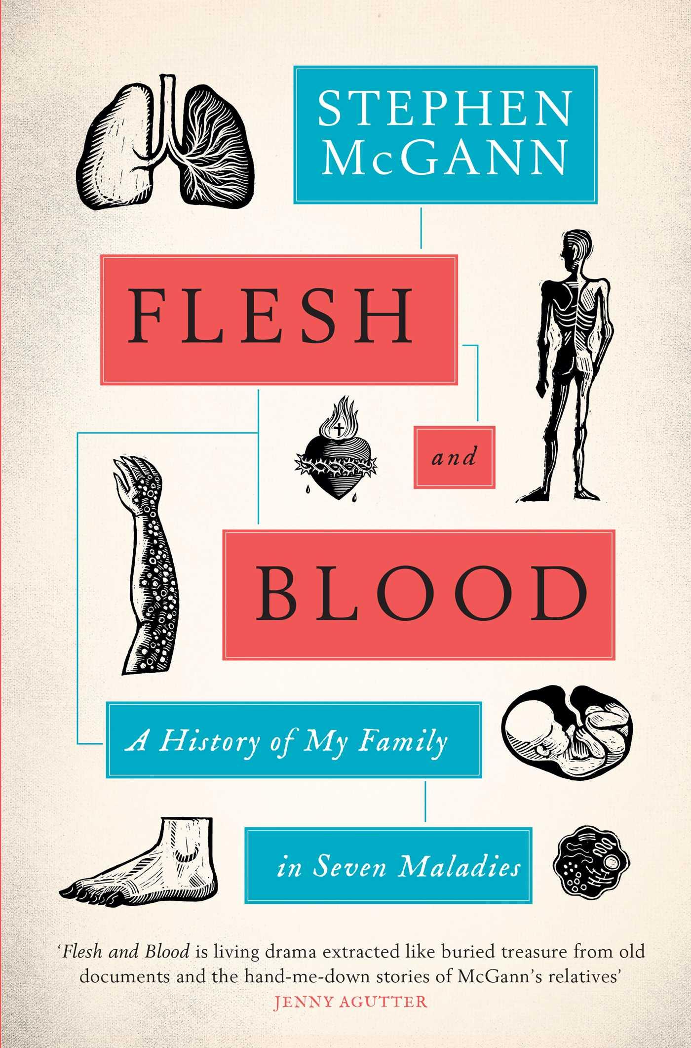 Flesh and blood 9781471160790 hr