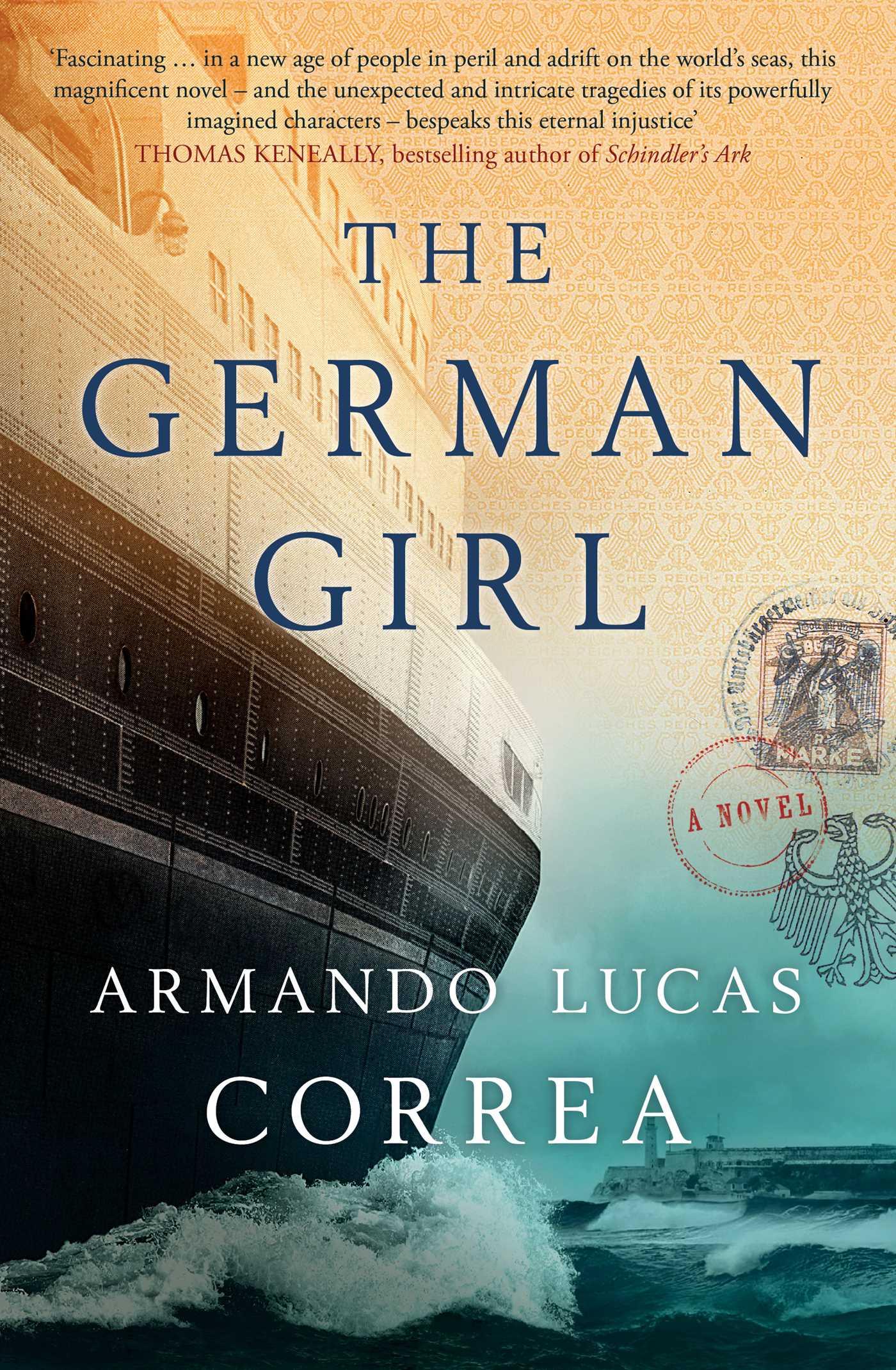 The german girl 9781471161605 hr