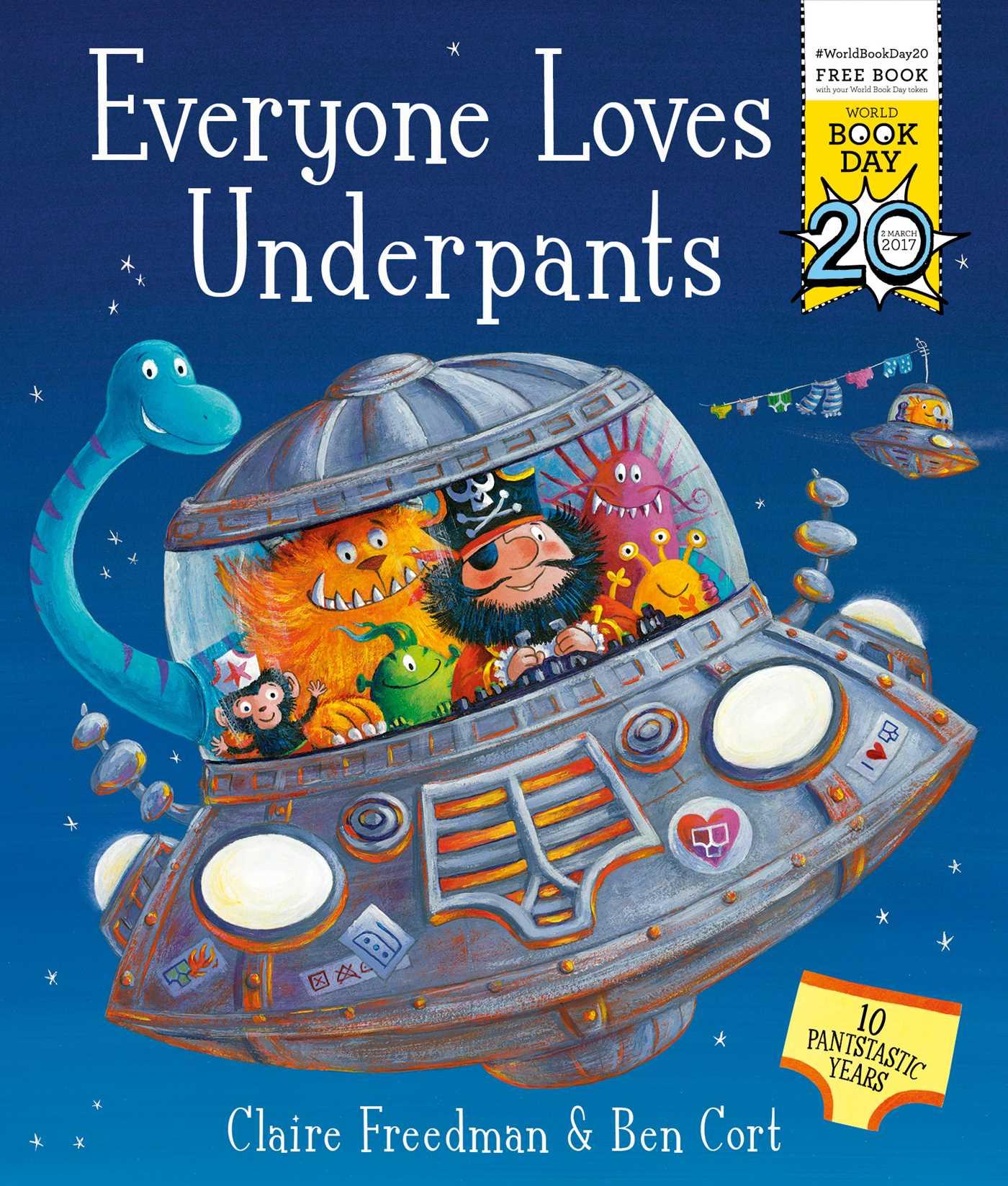 Everyone loves underpants 9781471163074 hr