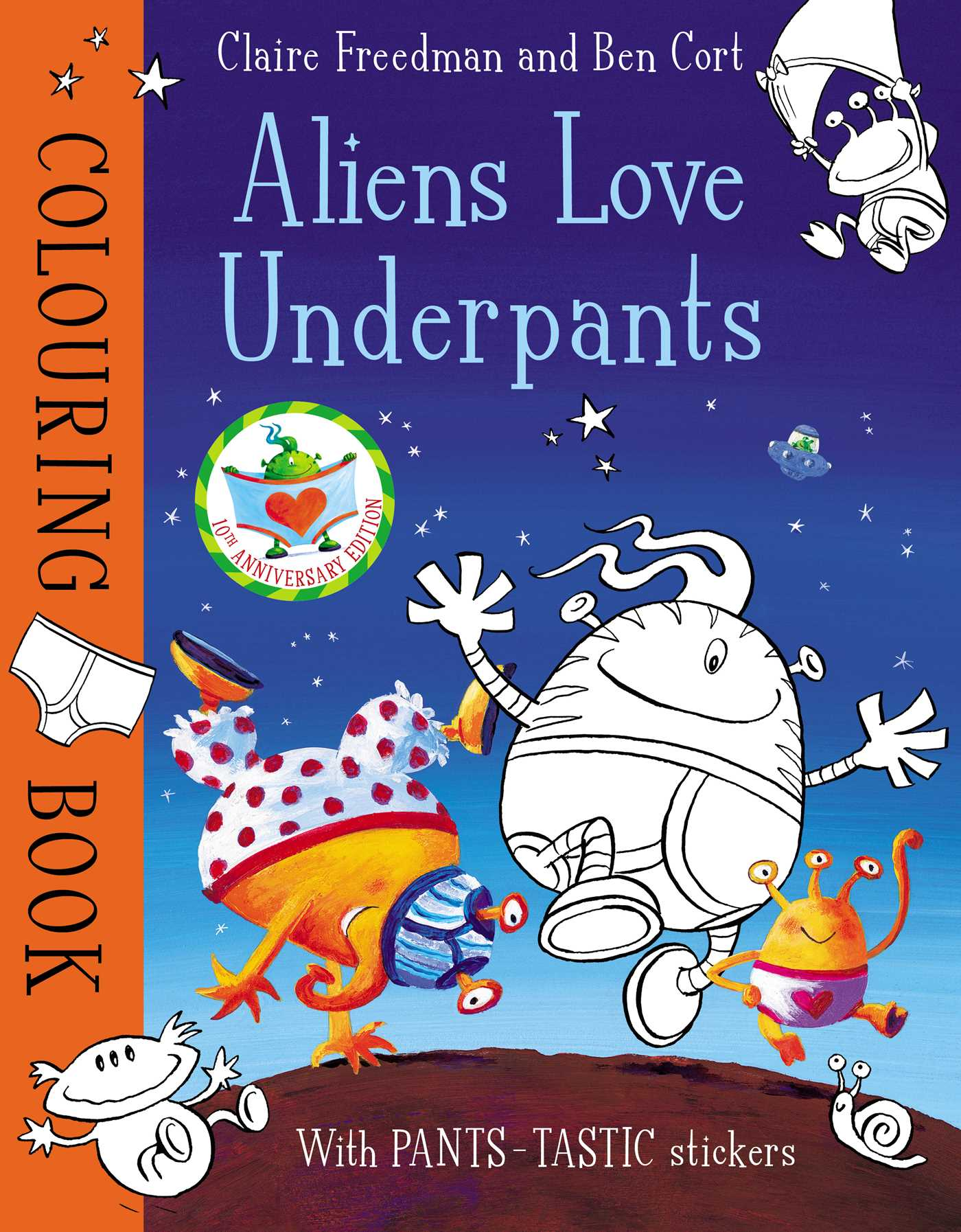 Aliens love underpants colouring book 9781471164293 hr