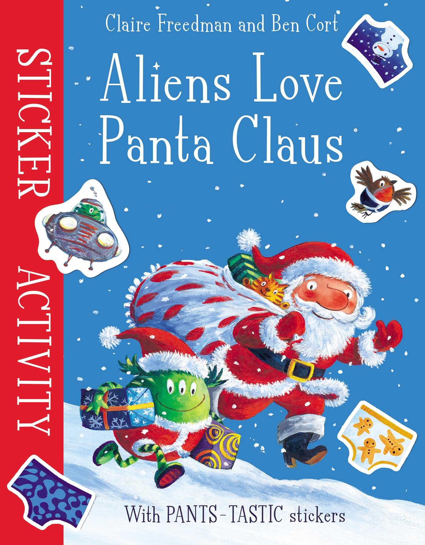Aliens love panta claus sticker activity 9781471164309 hr