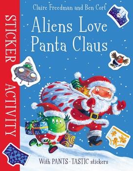 Aliens Love Panta Claus: Sticker Activity
