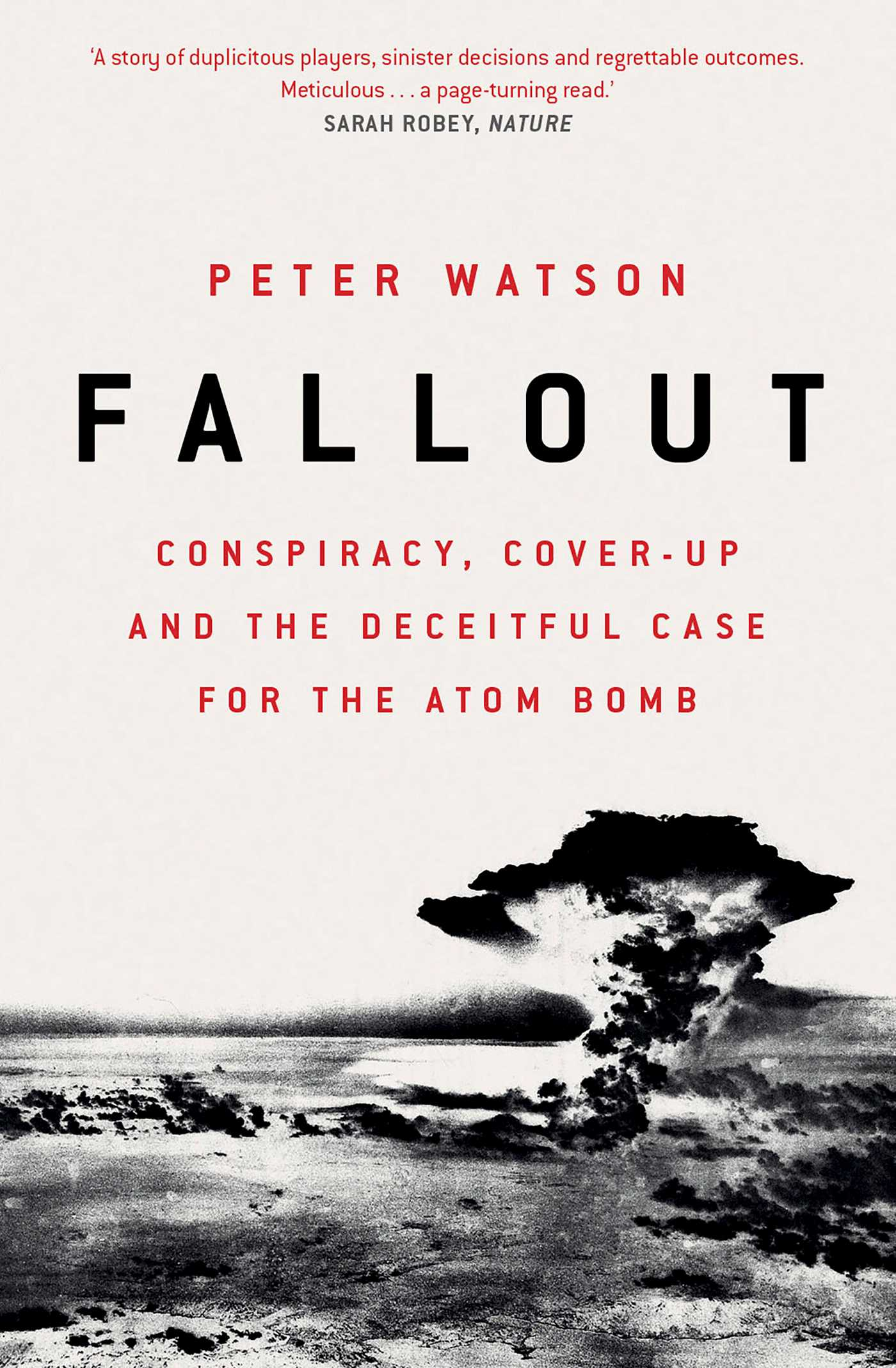 Fallout | Book by Peter Watson | Official Publisher Page
