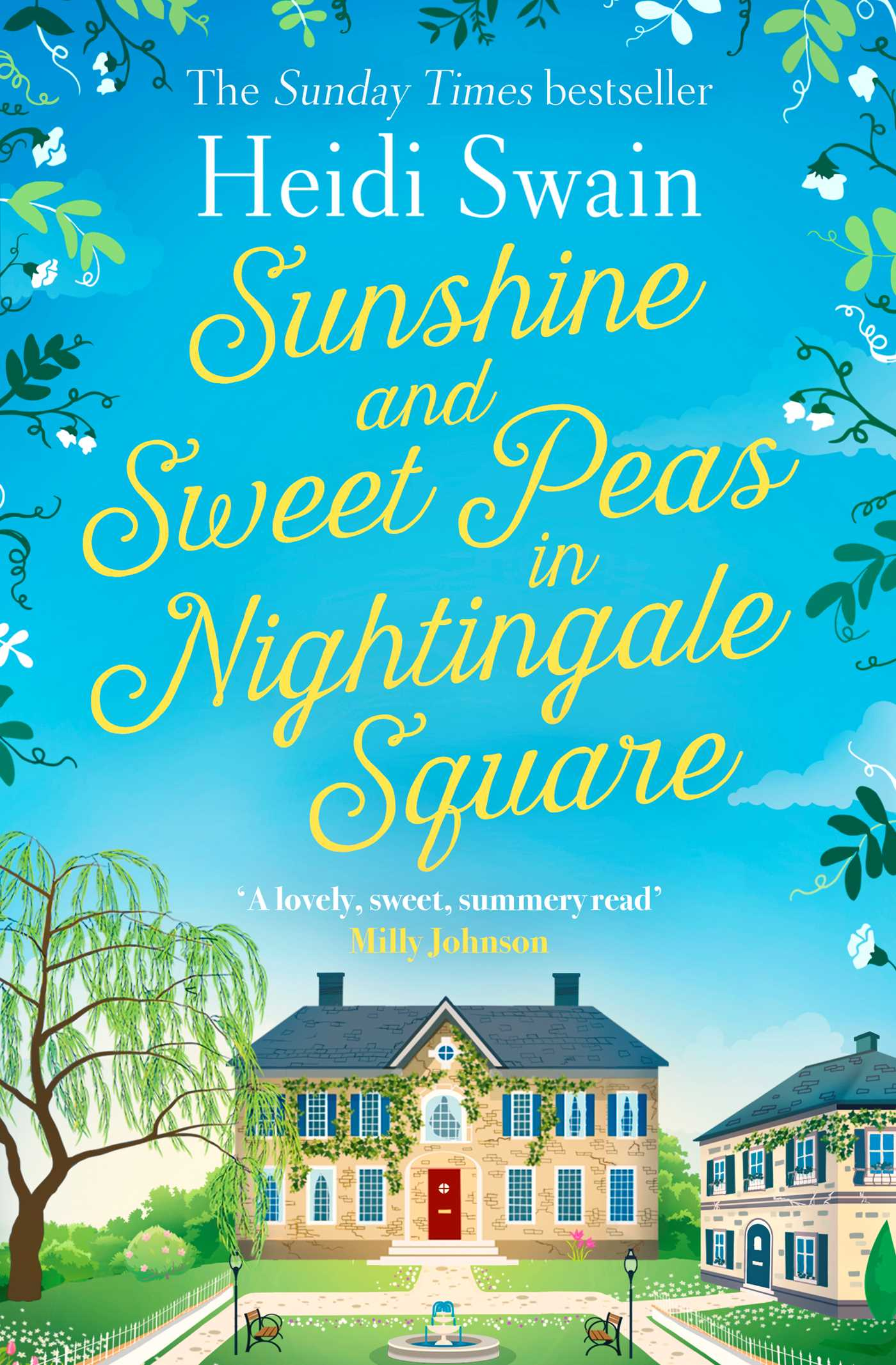 Sunshine and sweet peas in nightingale square 9781471164873 hr