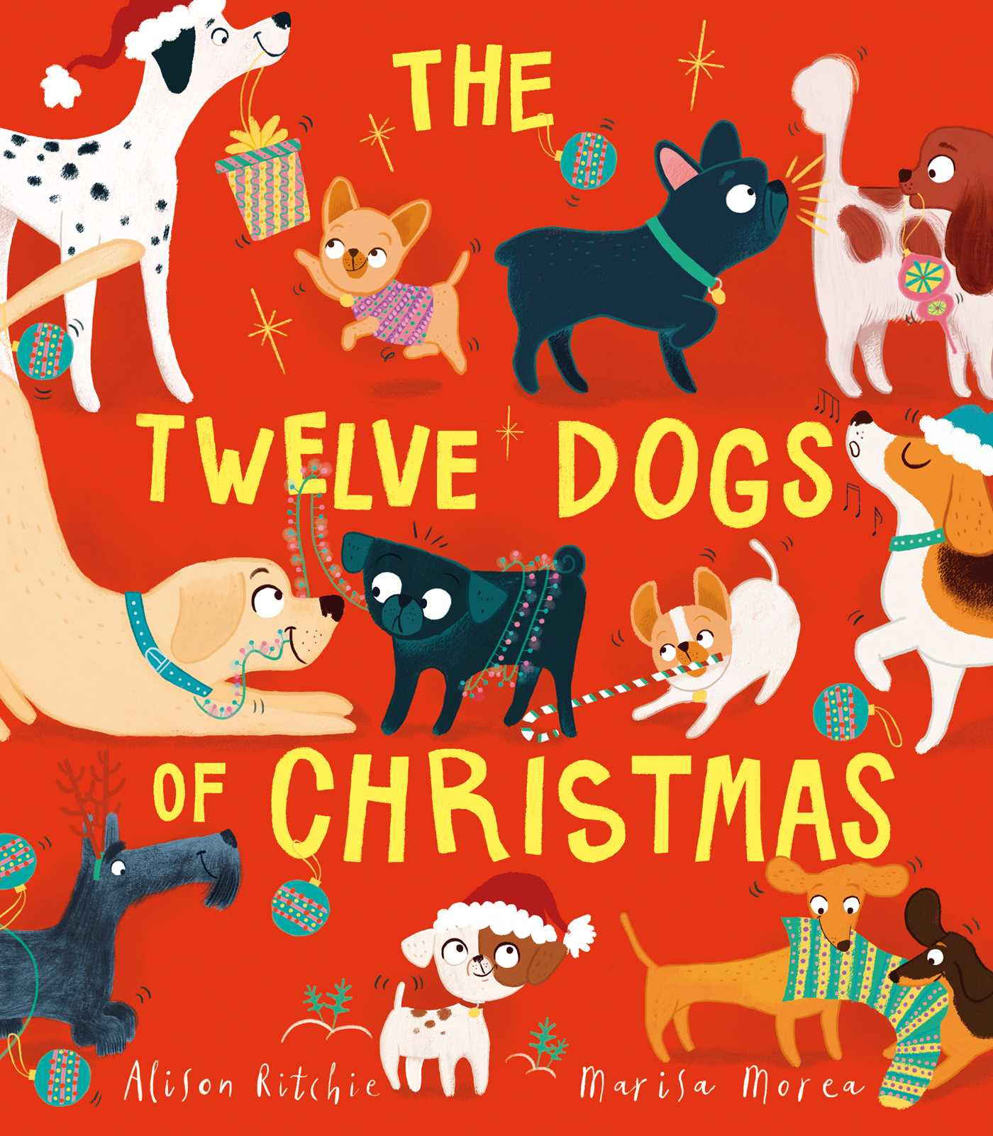 The twelve dogs of christmas 9781471166181 hr