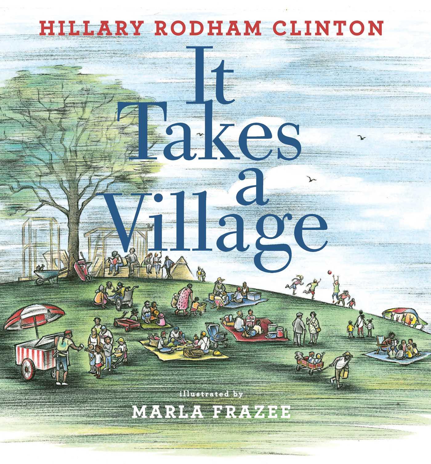 It takes a village 9781471166983 hr