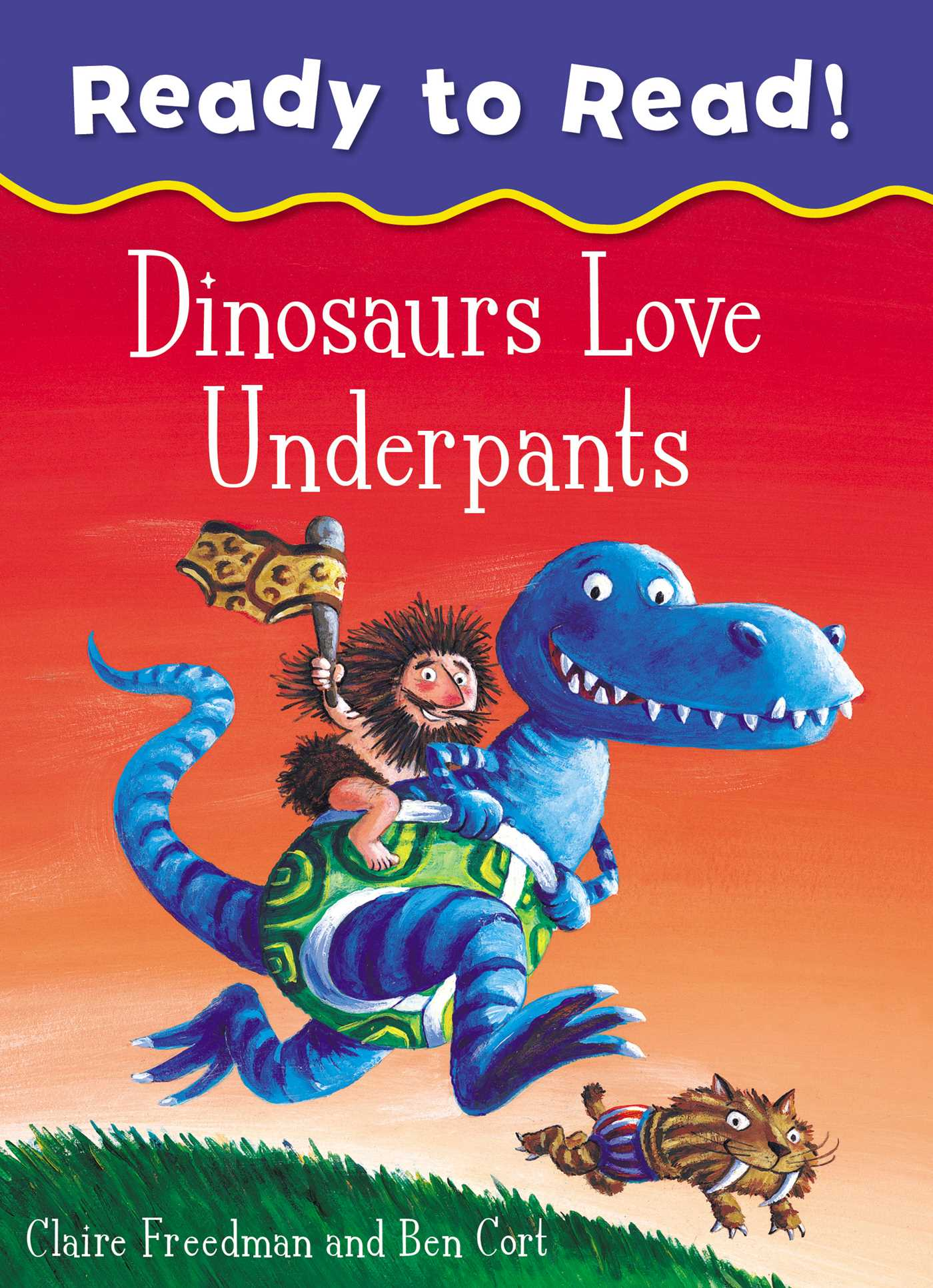 Dinosaurs love underpants ready to read 9781471169366 hr
