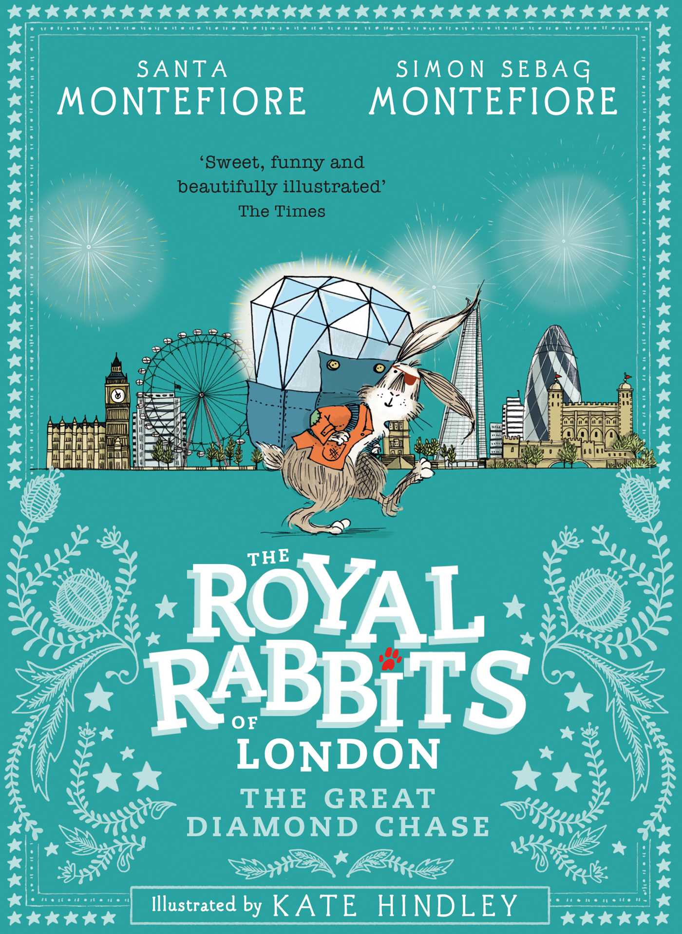 Royal rabbits of london the great diamond chase 9781471171482 hr