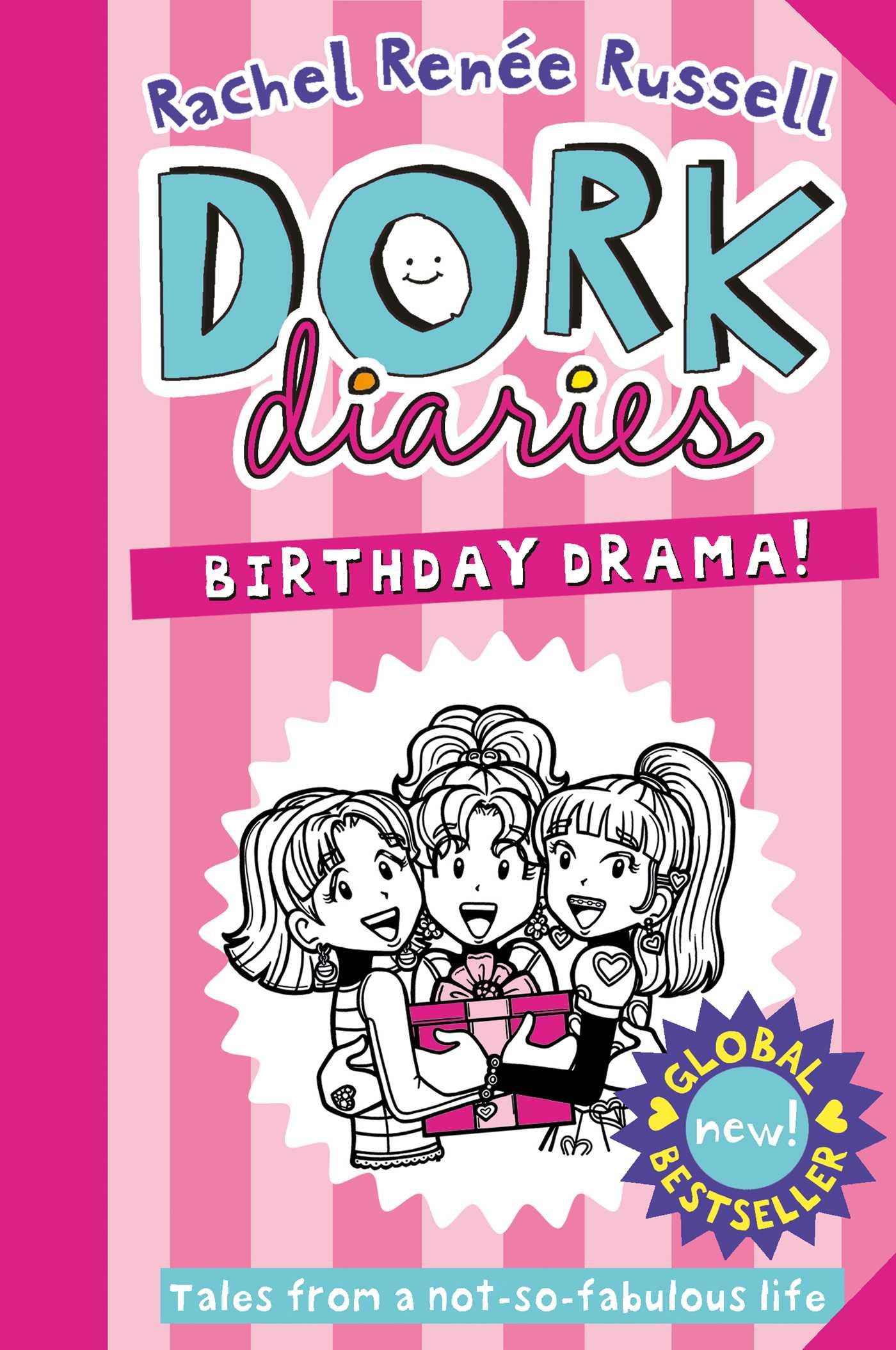 dork diaries birthday drama book by rachel renee russell