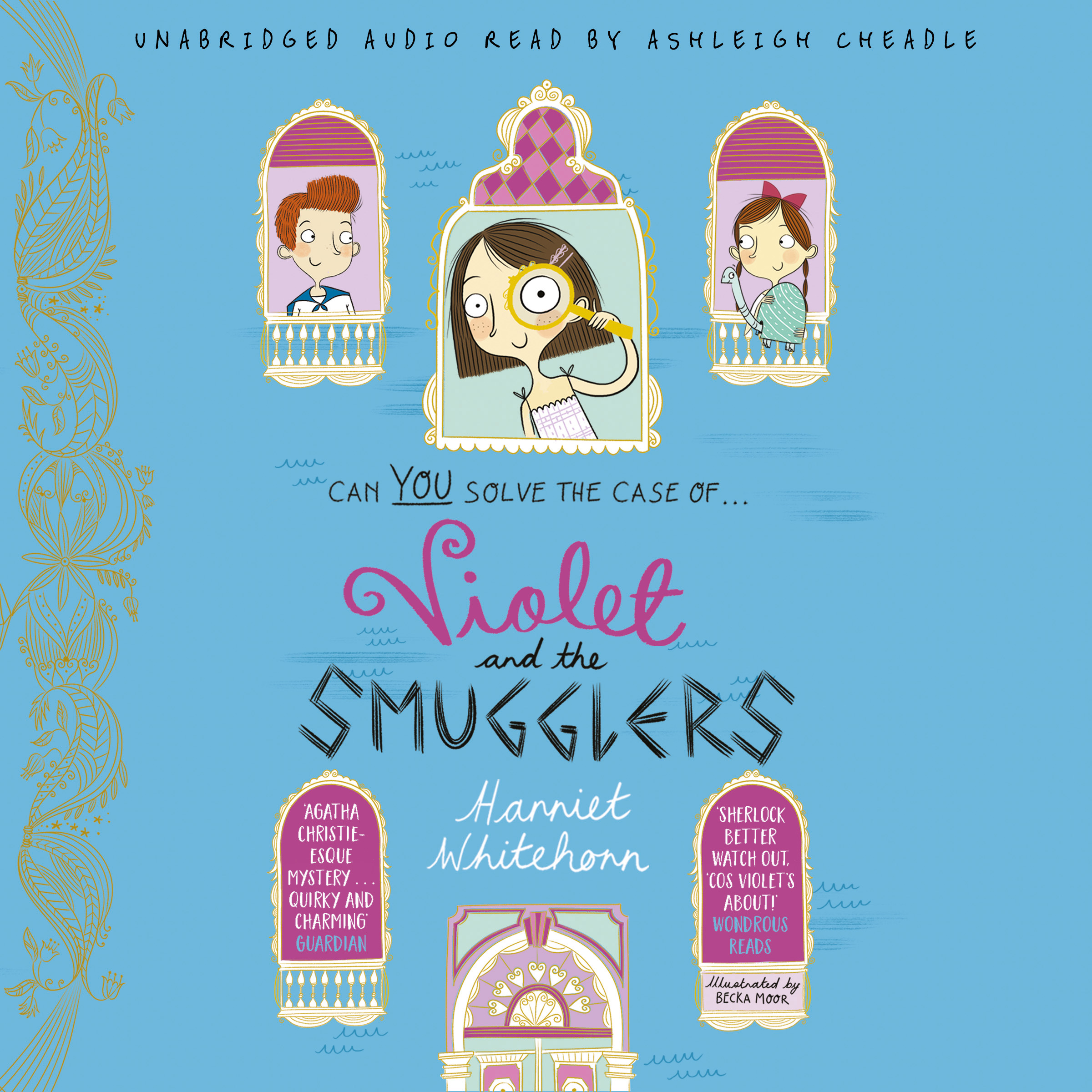 Violet and the smugglers 9781471176487 hr