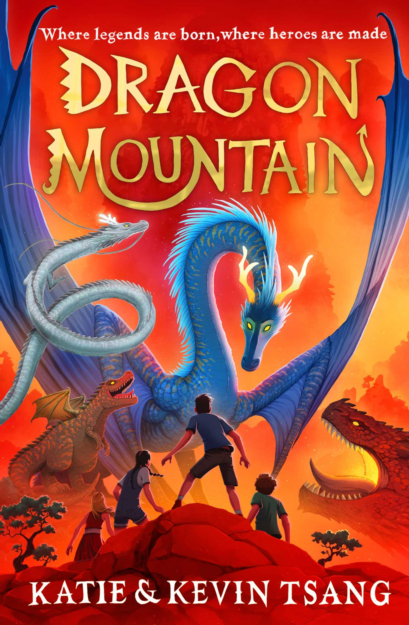Dragon Mountain | Book by Katie Tsang, Kevin Tsang | Official Publisher  Page | Simon & Schuster UK