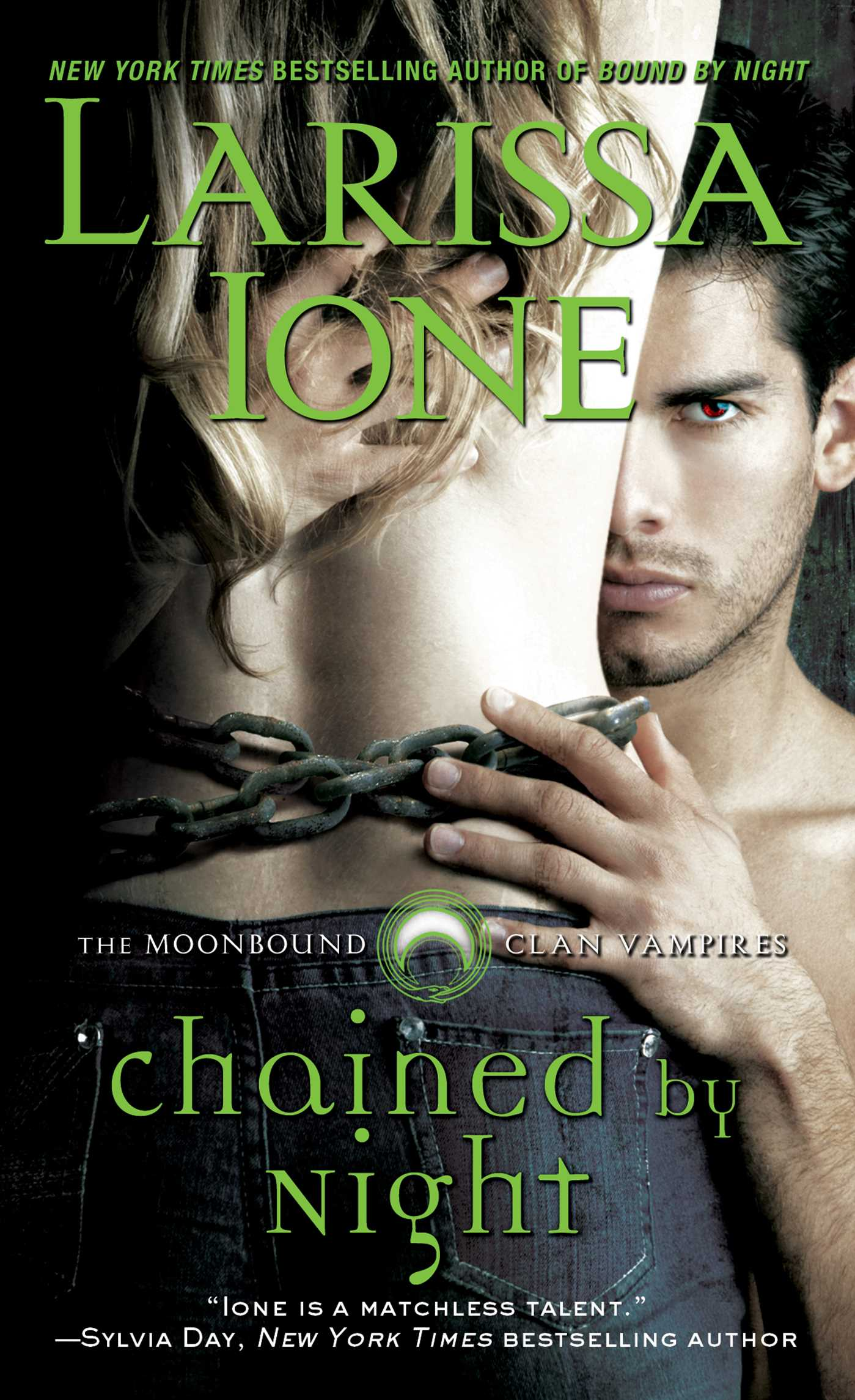 Chained by night 9781476700182 hr