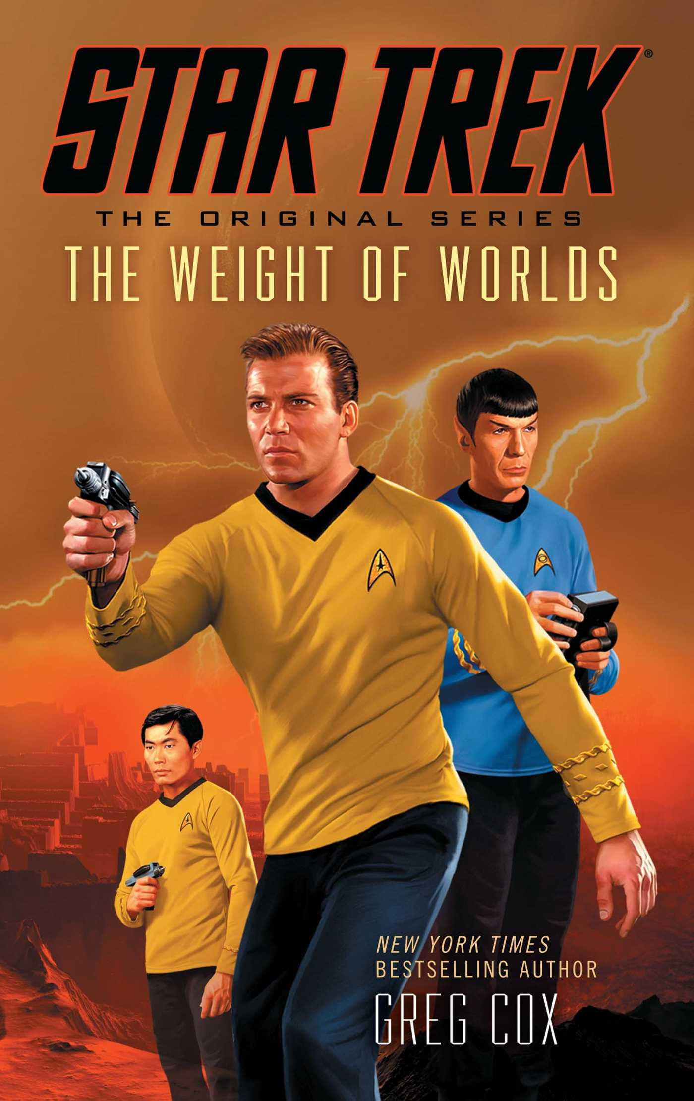 Star trek the original series the weight of worlds 9781476702858 hr