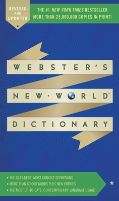 Websters New World Dictionary Book By Websters New World