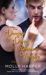 Dangers of Dating a Rebound Vampire book cover