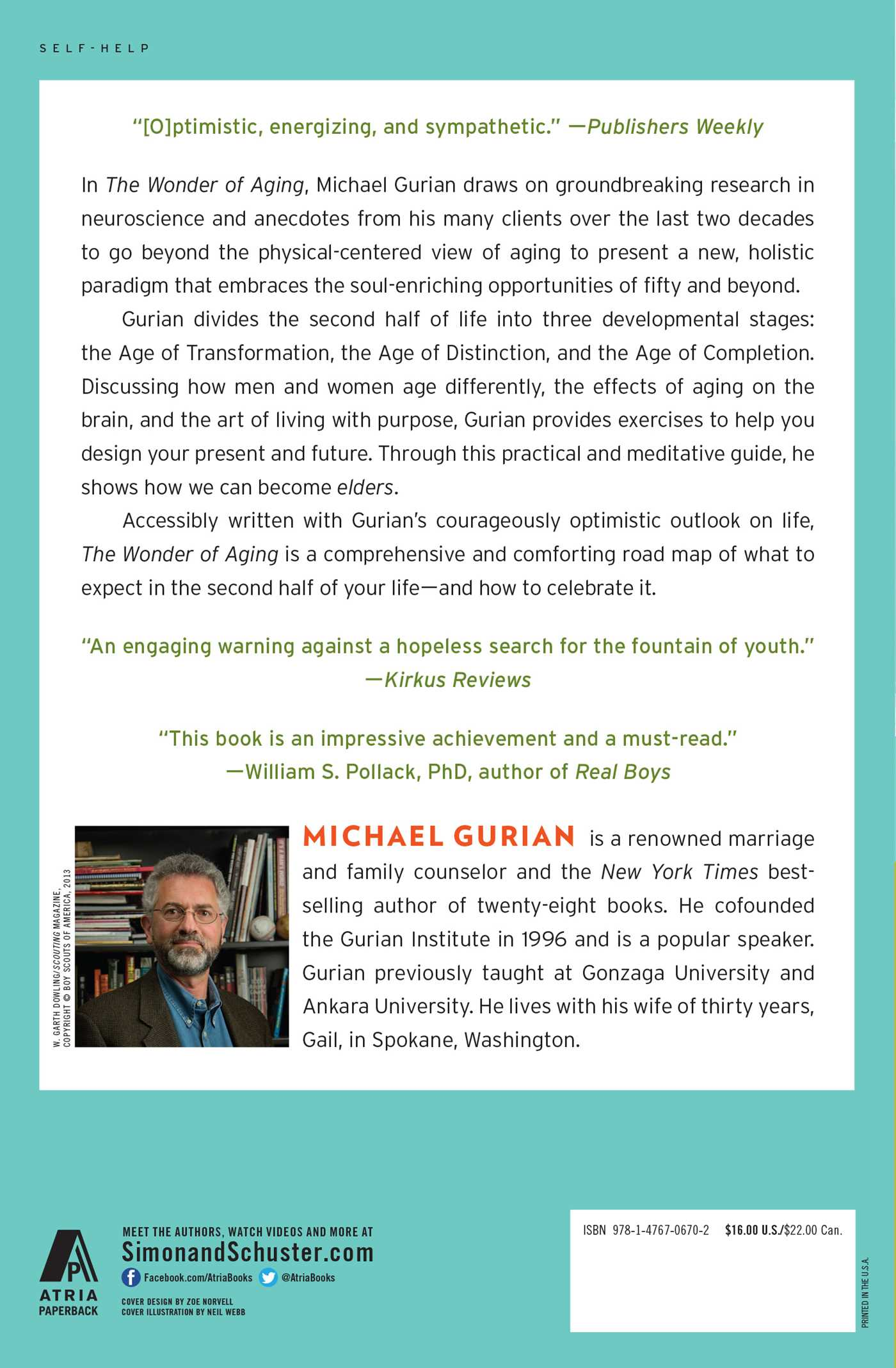 The Wonder of Aging | Book by Michael Gurian | Official