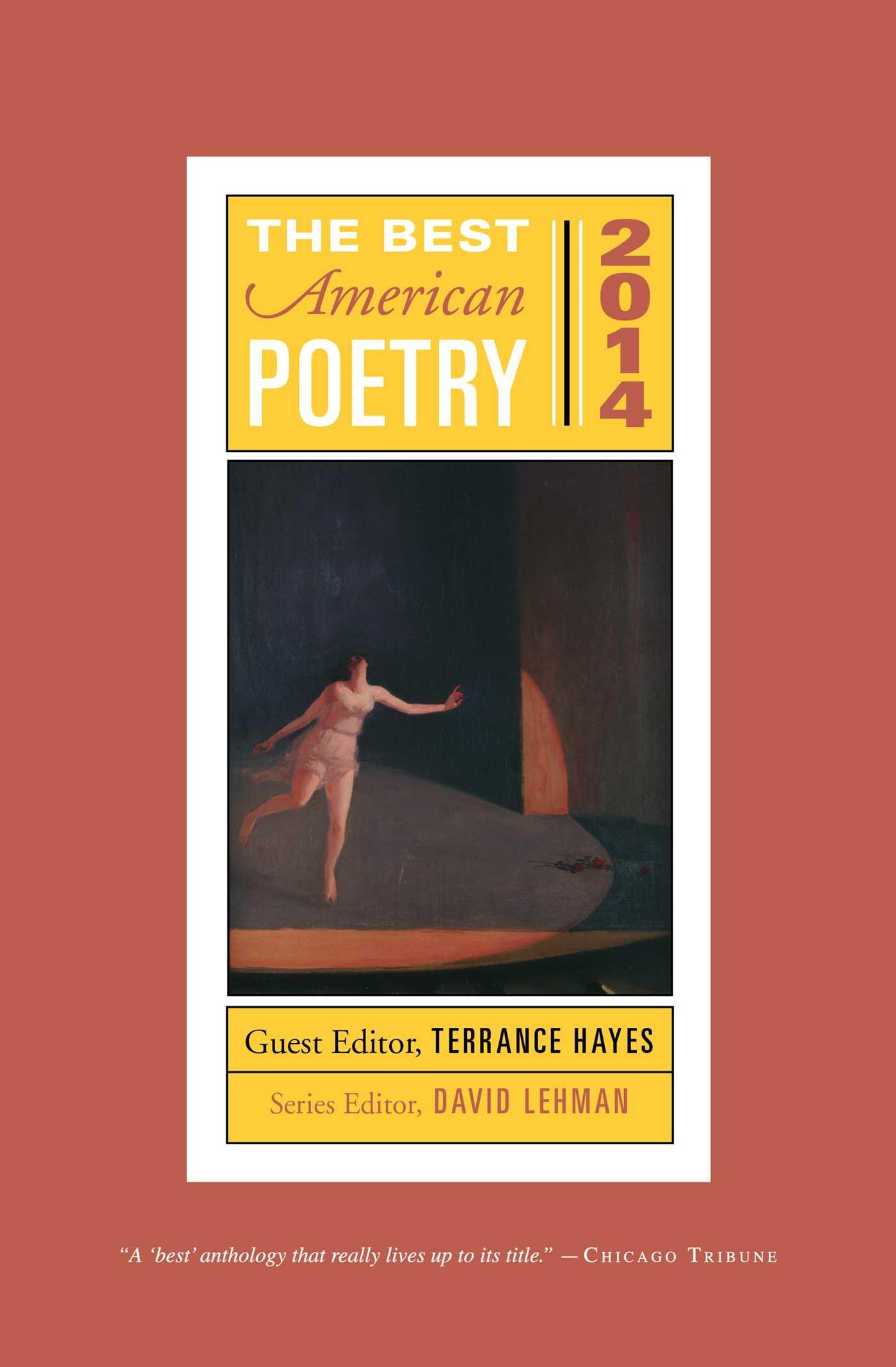 The best american poetry 2014 9781476708188 hr