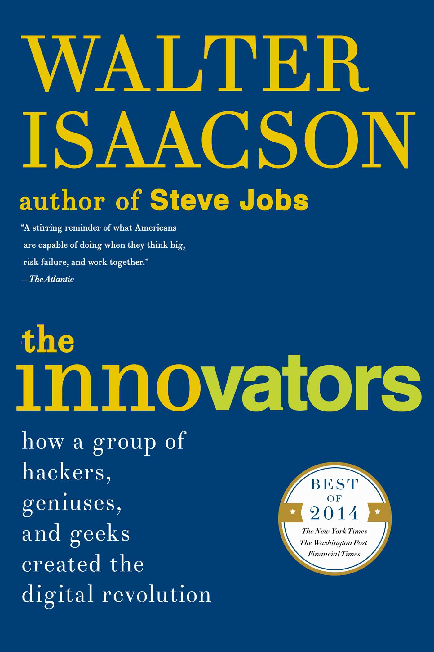 The innovators 9781476708713 hr