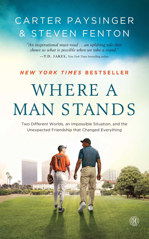 Where a man stands 9781476711423 hr