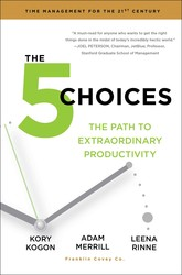 Buy 5 Choices: The Path to Extraordinary Productivity