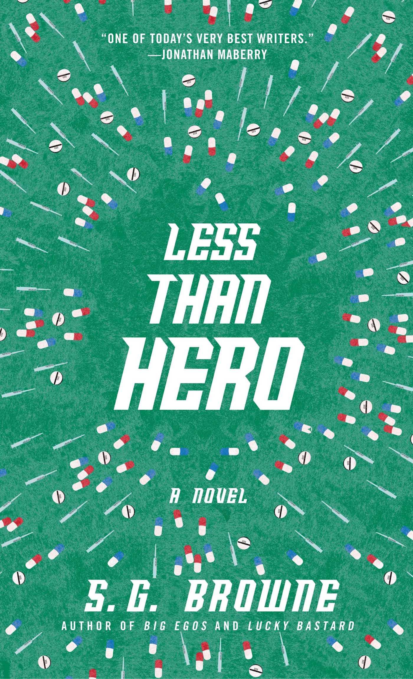 Less than hero 9781476711744 hr