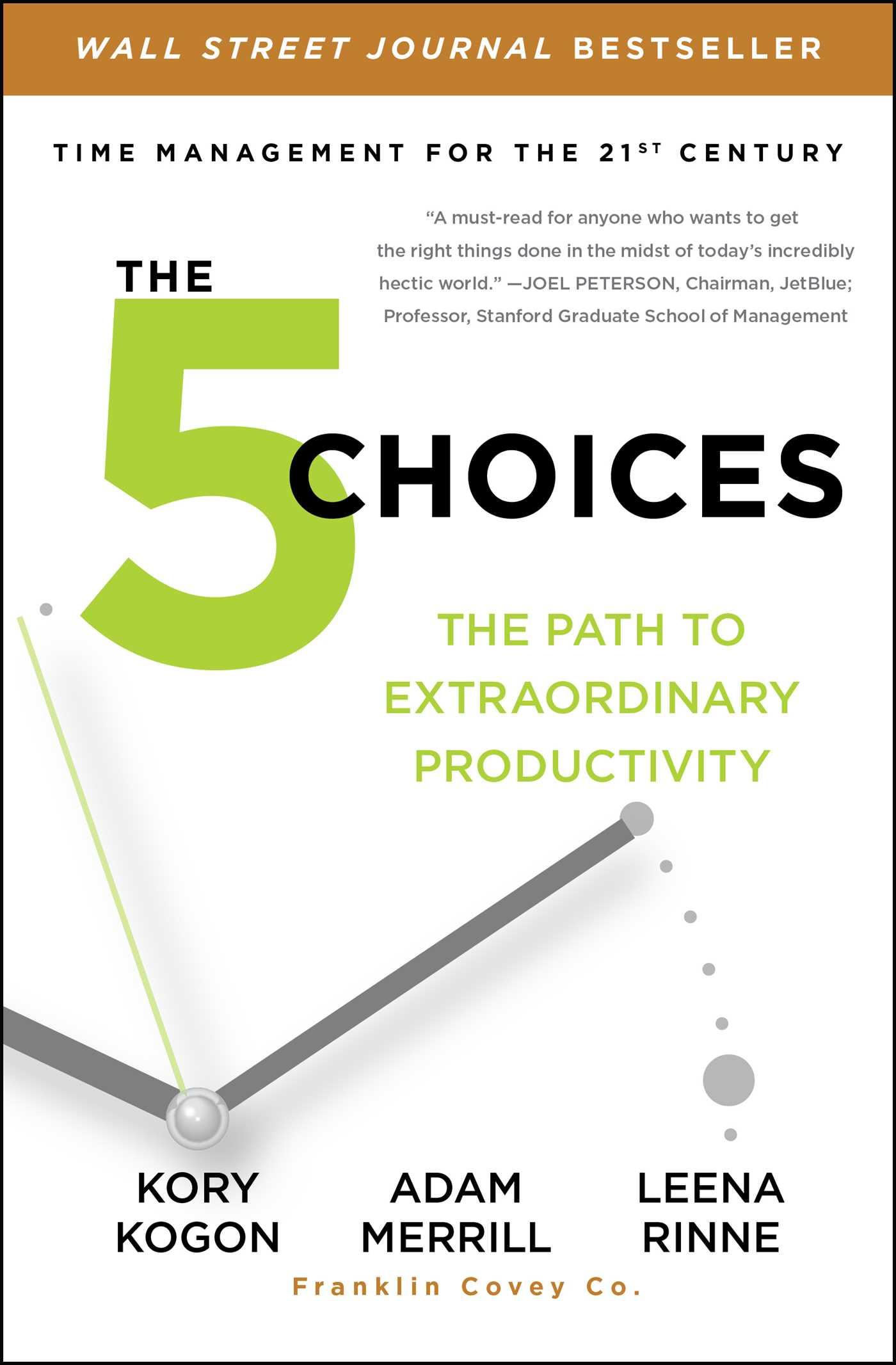 The 5 choices 9781476711836 hr