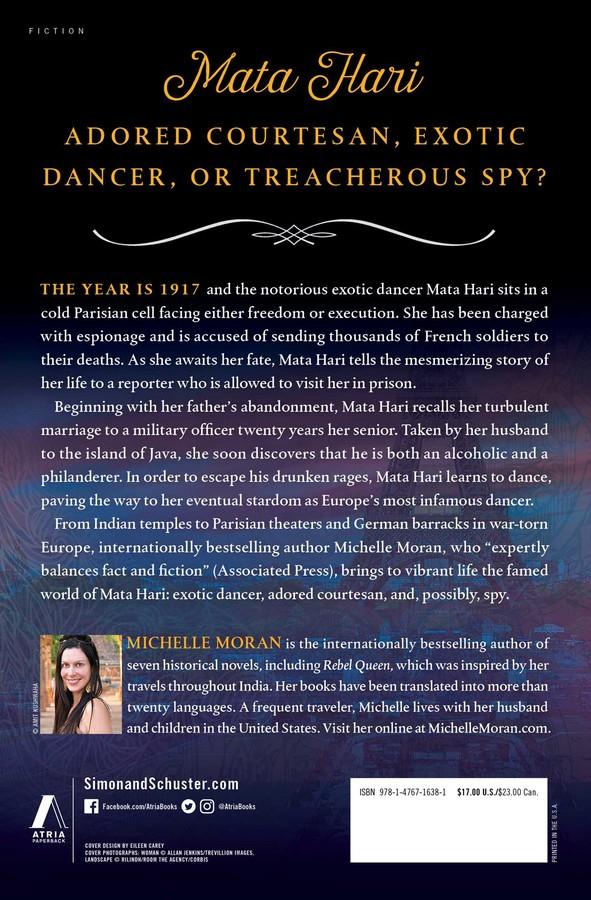 Mata Hari's Last Dance   Book by Michelle Moran   Official Publisher