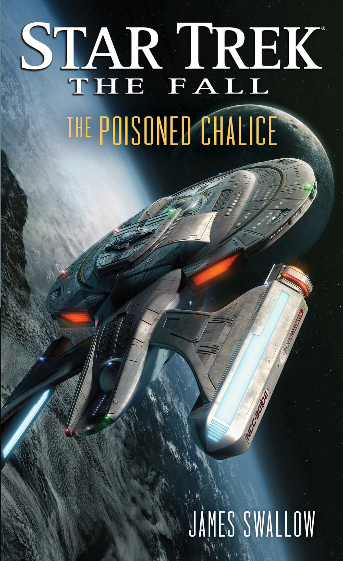 The fall the poisoned chalice 9781476722276 hr
